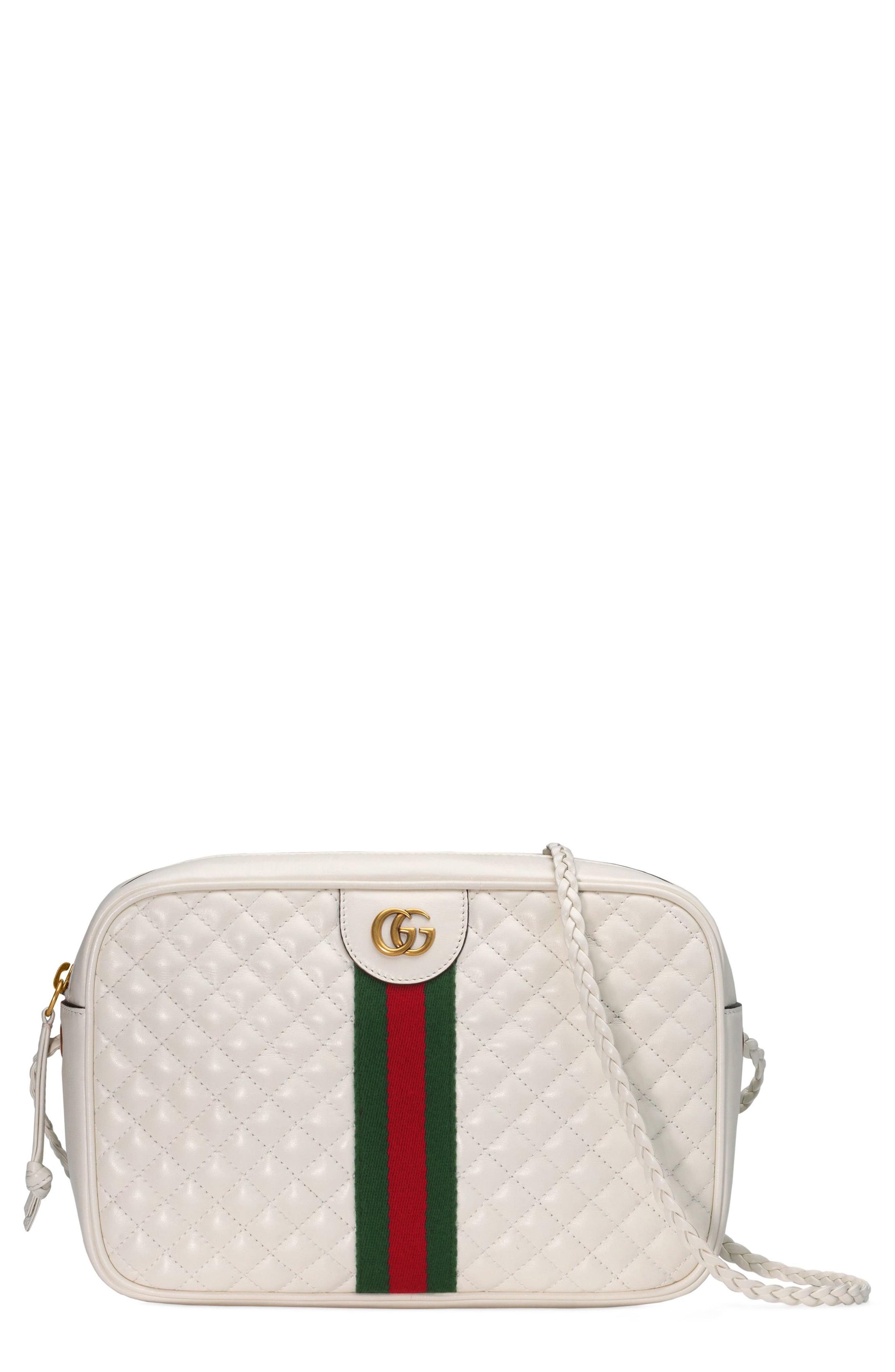 Lyst , Gucci Women\u0027s Small Trapuntata Camera Bag , Off White
