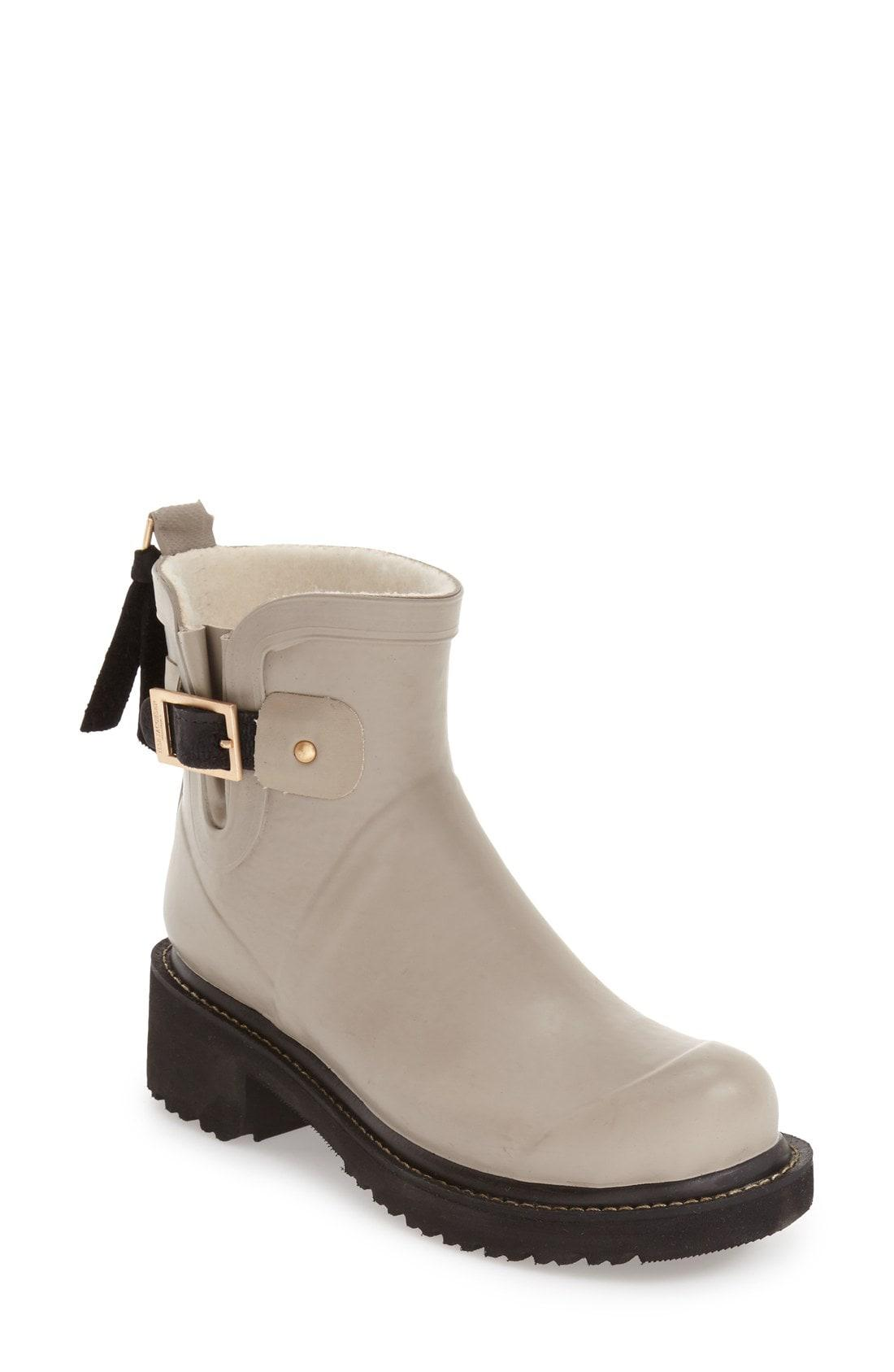 daf15eb4ab19 Lyst - Ilse Jacobsen Short Waterproof Rubber Boot in Brown