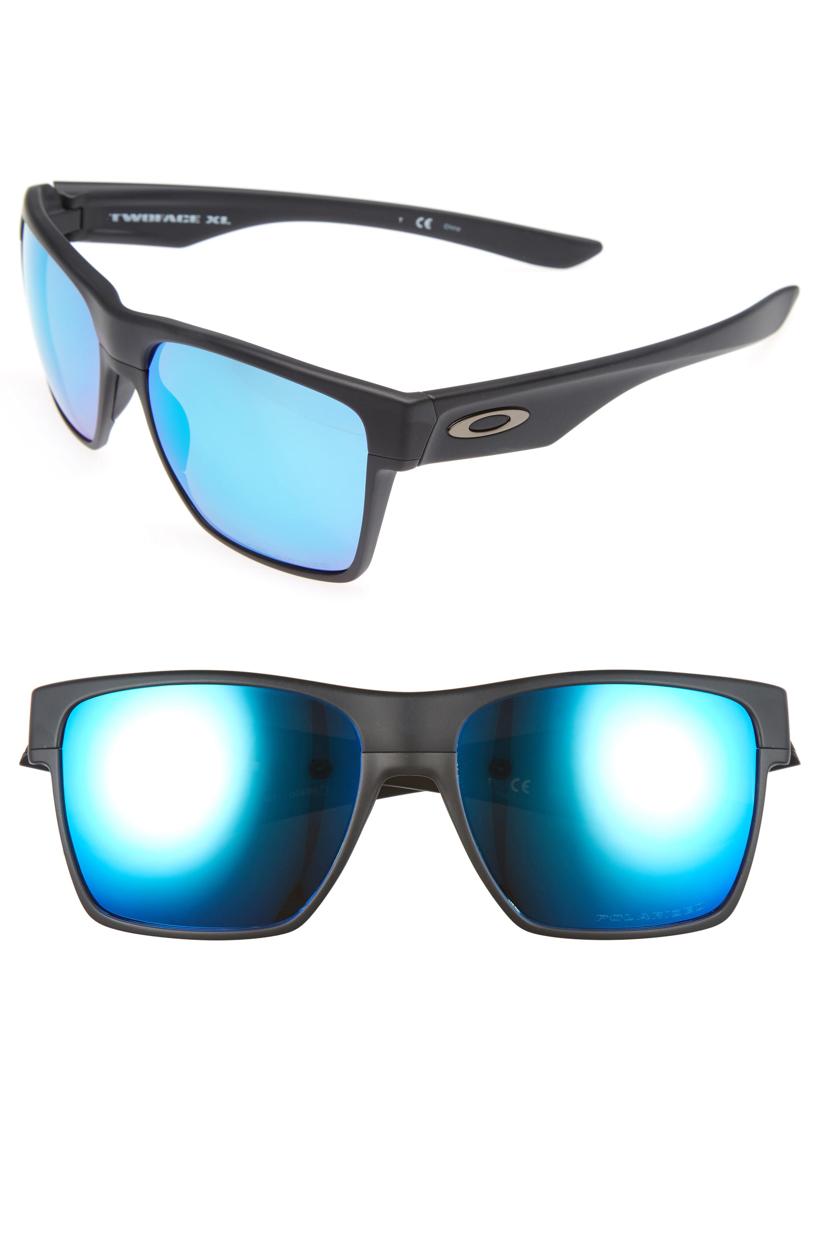 75629daa1f ... new zealand oakley. mens black twoface xl 59mm polarized sunglasses  e3274 0d42b