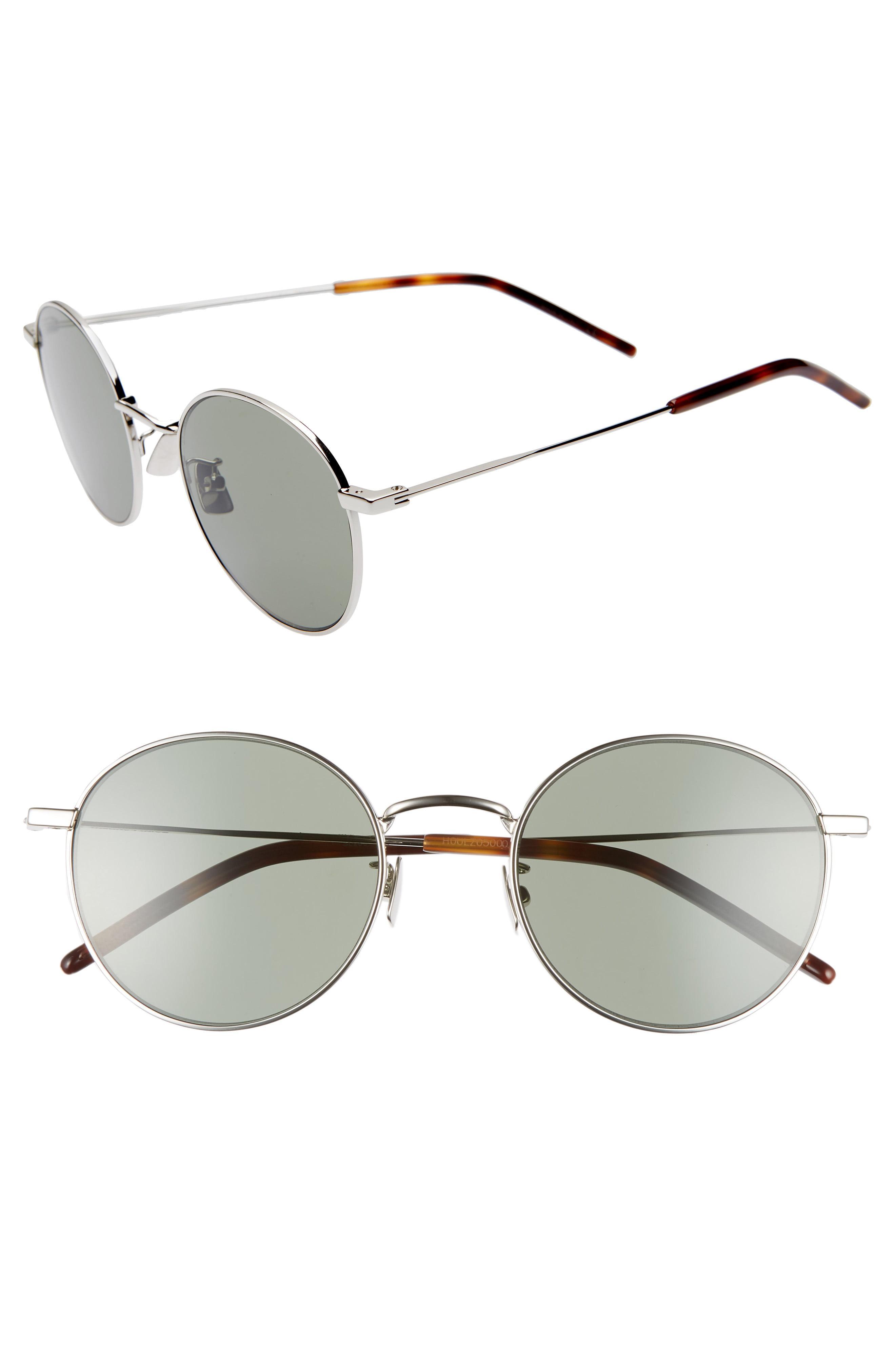 a55c5906a89b2 Lyst - Saint Laurent Sl 250 52mm Sunglasses in Black for Men
