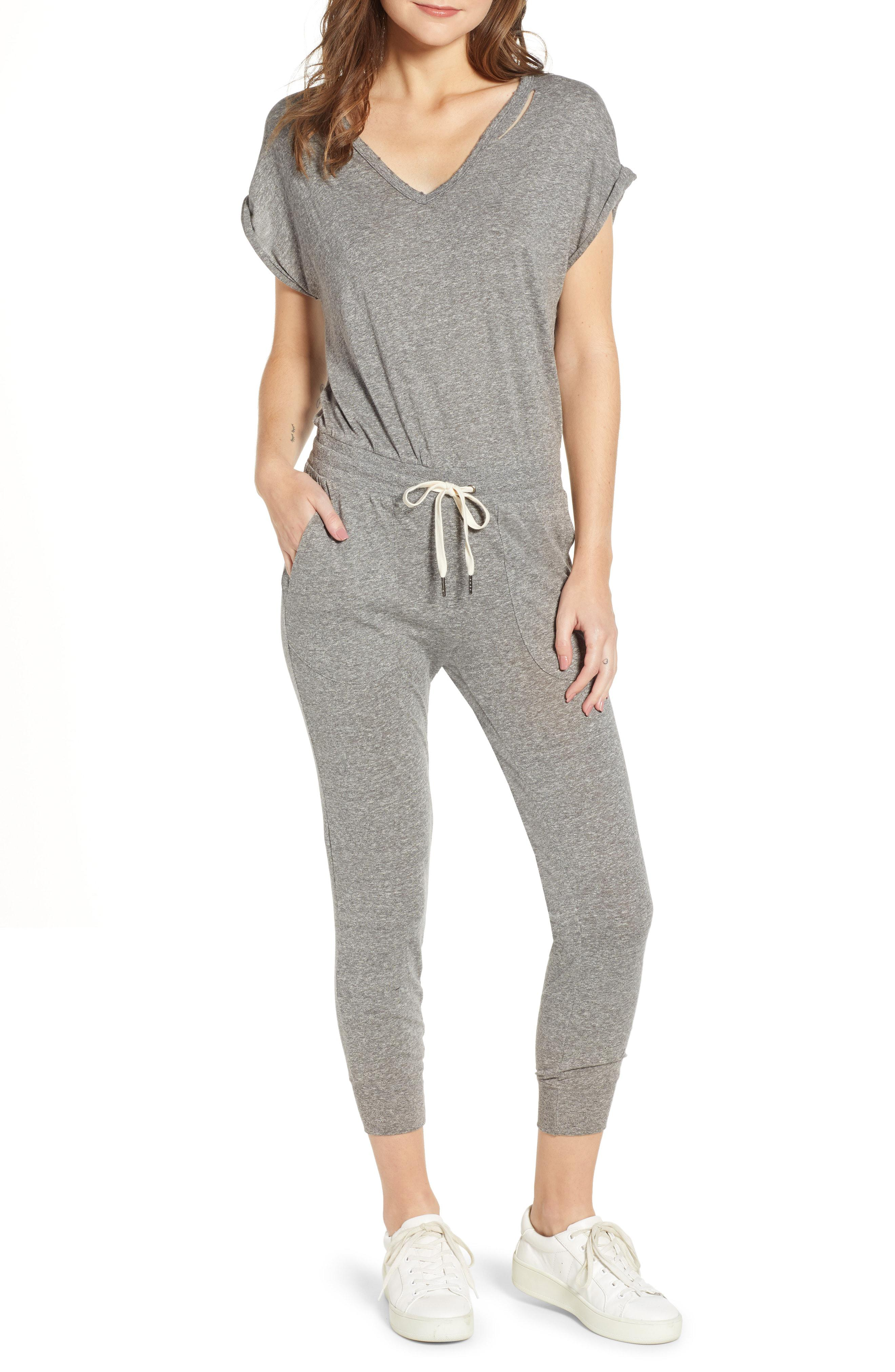 f1330f4e2ddb Lyst - N Philanthropy Space Deconstructed Jumpsuit in Gray