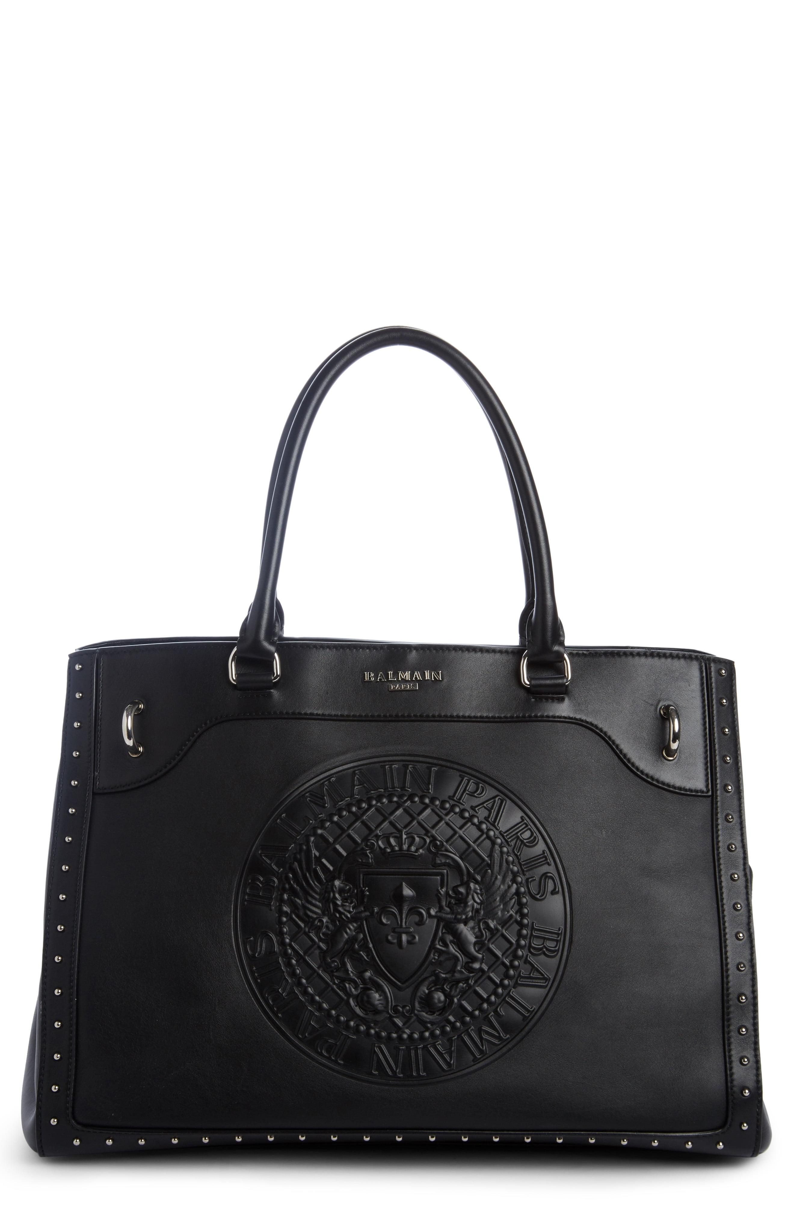13967cd9 Balmain - Black Renaissance Leather Tote - Lyst. View fullscreen