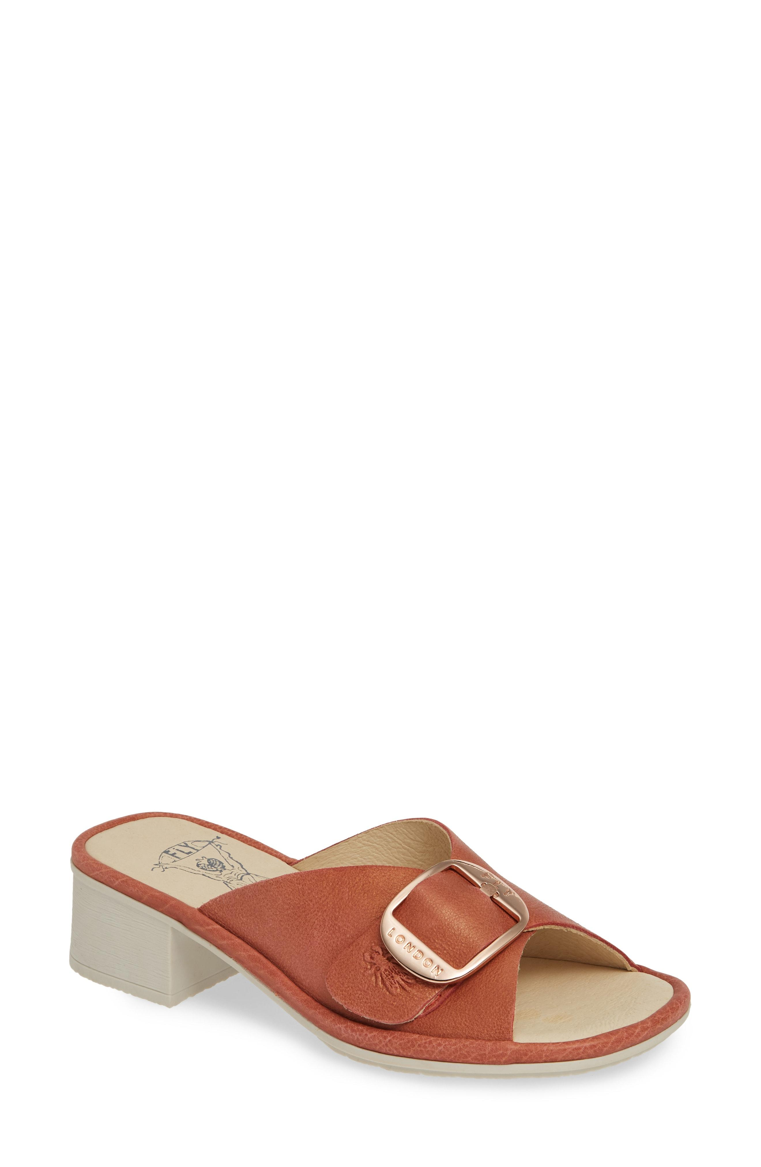 afa328d4d3fec Fly London. Women's Elax Slide Sandal