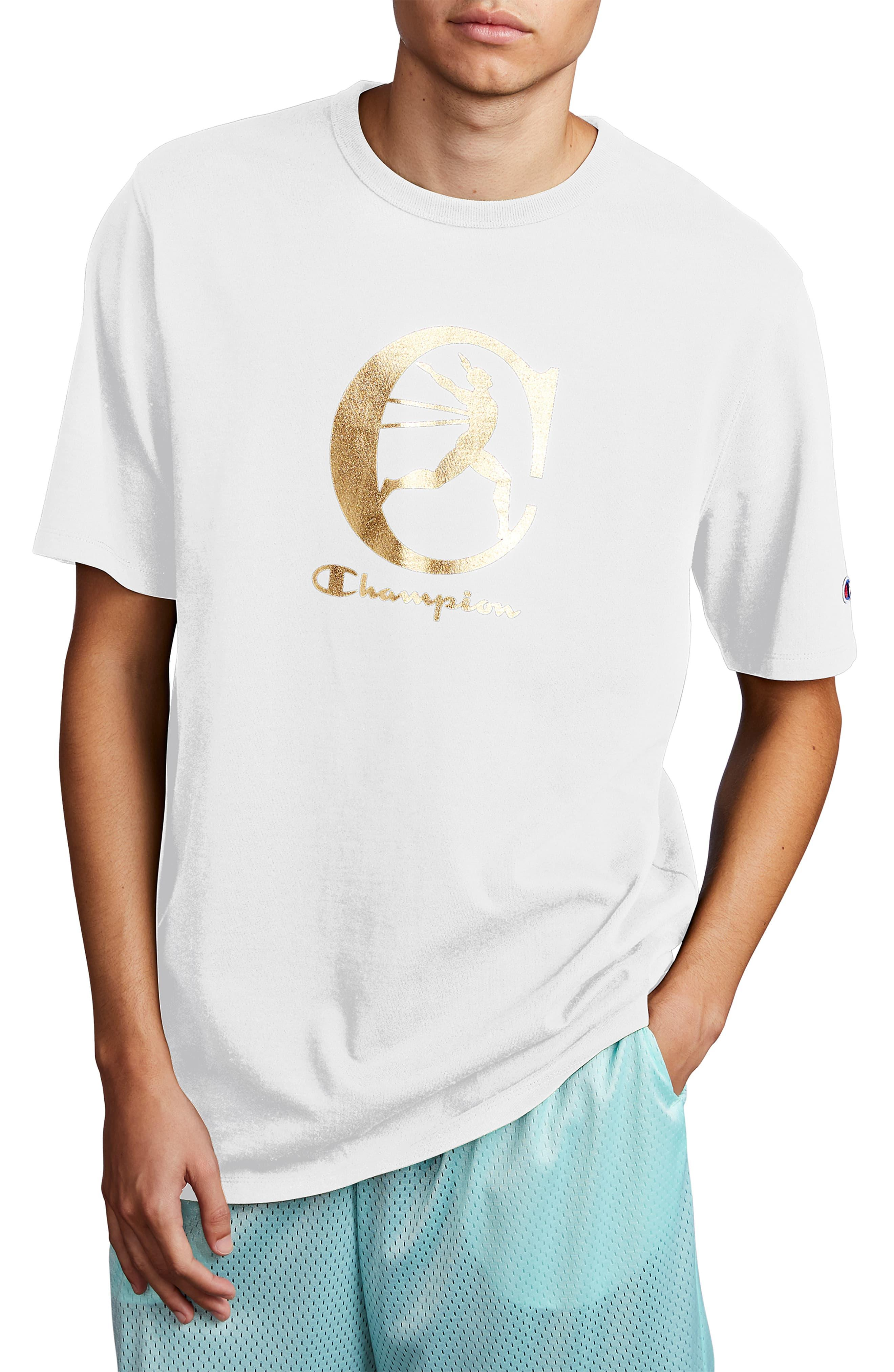 06fc3ed96 Champion Heritage Graphic T-shirt in White for Men - Lyst