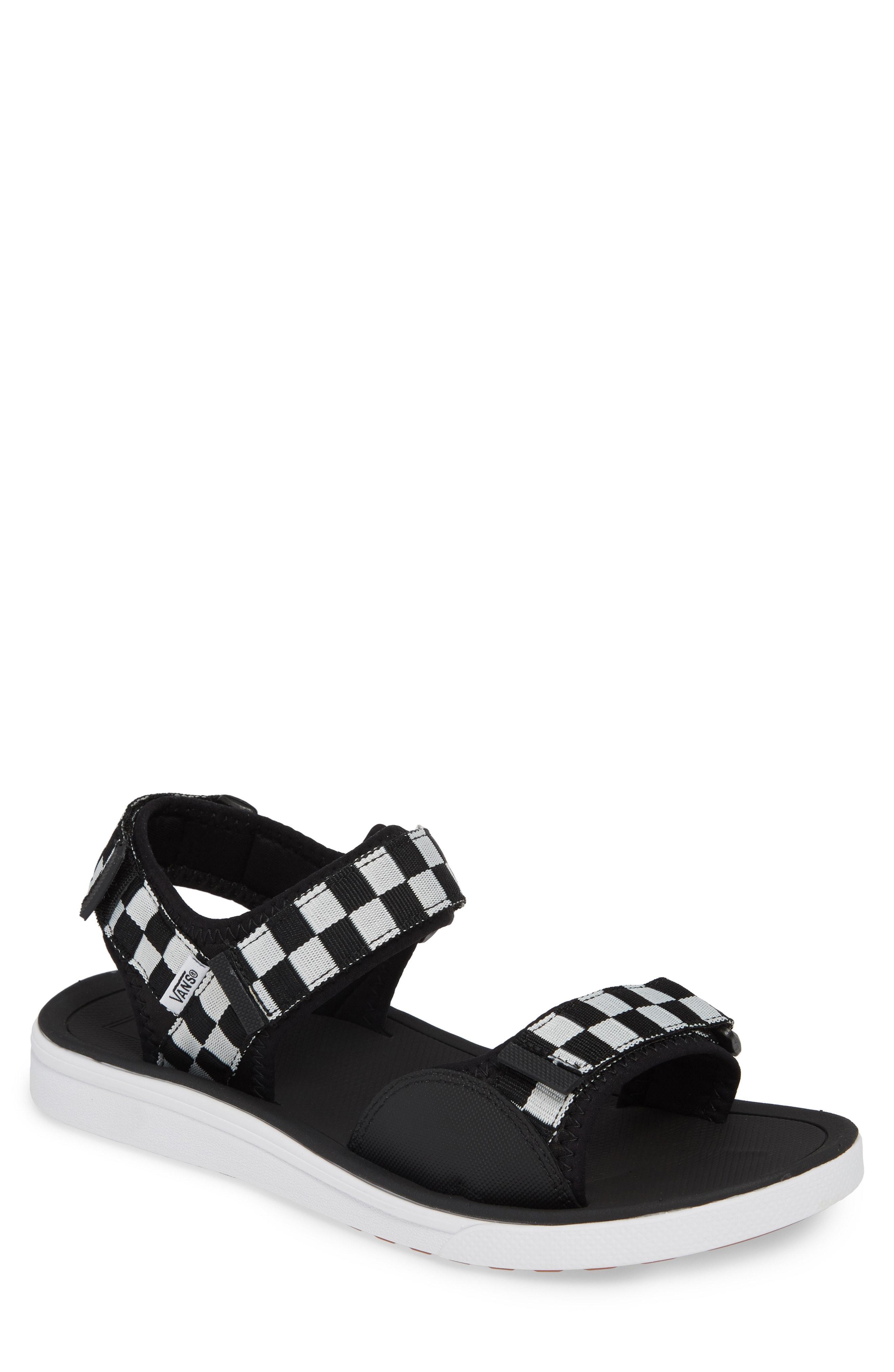 Lyst - Vans Ultrarange Tri Lock Sport Sandal in Black for Men bad8779b3