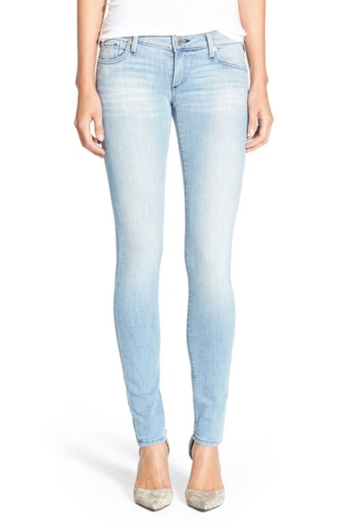 true religion 39 stella 39 skinny jeans in blue lyst. Black Bedroom Furniture Sets. Home Design Ideas