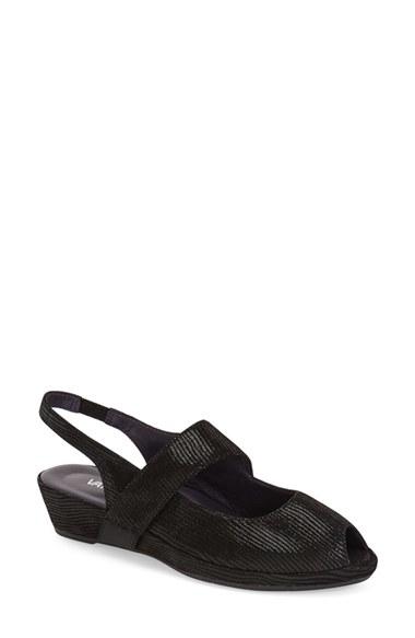 Lyst Vaneli Doddie Slingback Sandal In Black