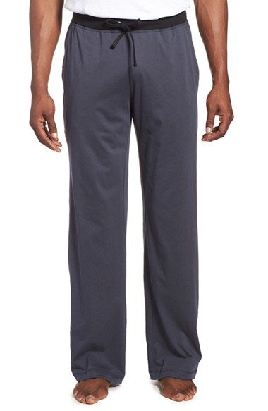 Daniel Buchler Peruvian Pima Cotton Lounge Pants In Gray