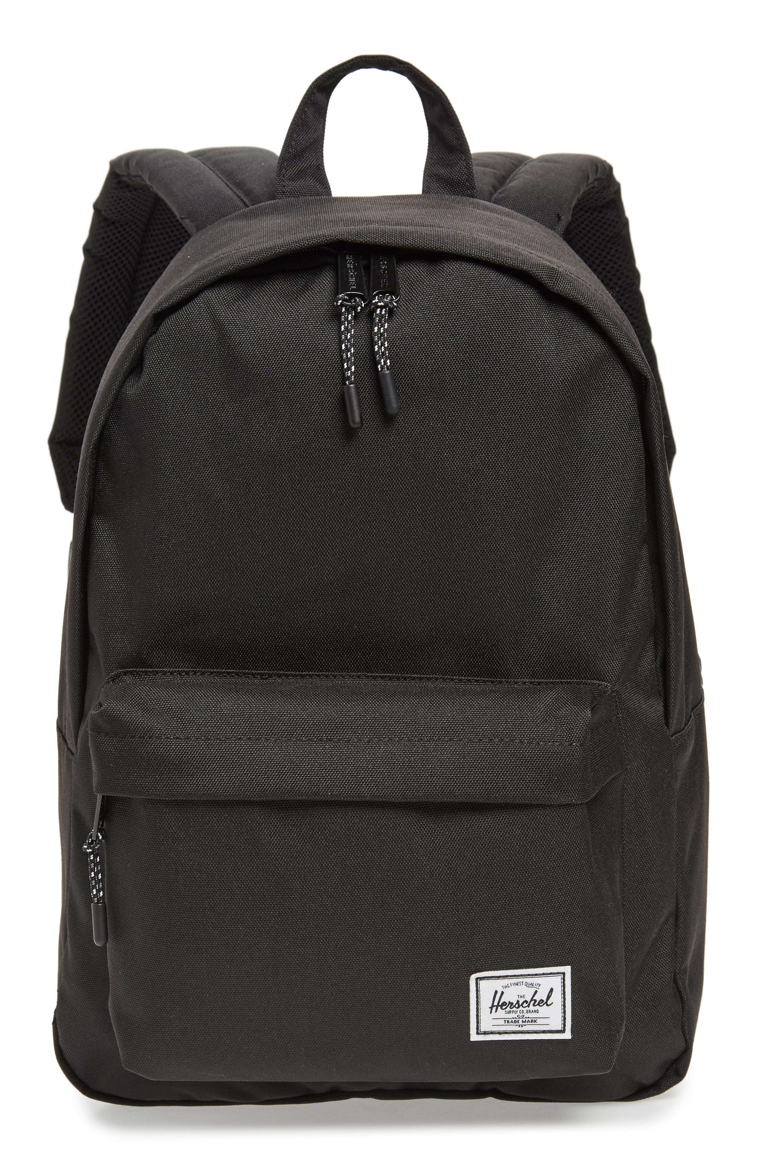b7afcf3acb1 Lyst - Herschel Supply Co. Classic Mid Volume Backpack in Black