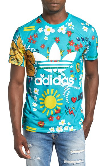 ec8aad9684f9d Lyst - adidas Originals  pharrell Williams - Doodle  T-shirt in ...