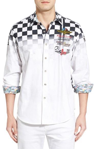 Robert Graham Designer Shirts Robert graham 'indy 50...