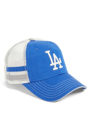7a6d62b31ade3 American Needle - Blue  foundry - Los Angeles Dodgers  Mesh Back Baseball  Cap for