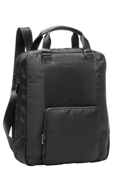 porsche design 39 shyrt 39 backpack in black for men lyst. Black Bedroom Furniture Sets. Home Design Ideas