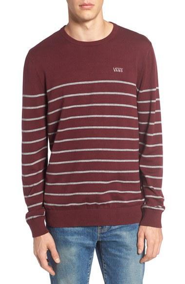 4989e5e4147ade Lyst - Vans Livingston Sweater in Purple for Men