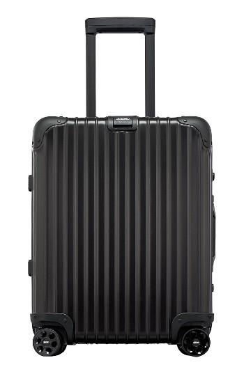 rimowa topas 22 inch cabin multiwheel aluminum carry on in black for men lyst. Black Bedroom Furniture Sets. Home Design Ideas