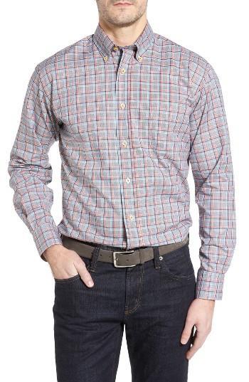 Robert talbott anderson classic fit plaid oxford sport for Robert talbott shirts sale