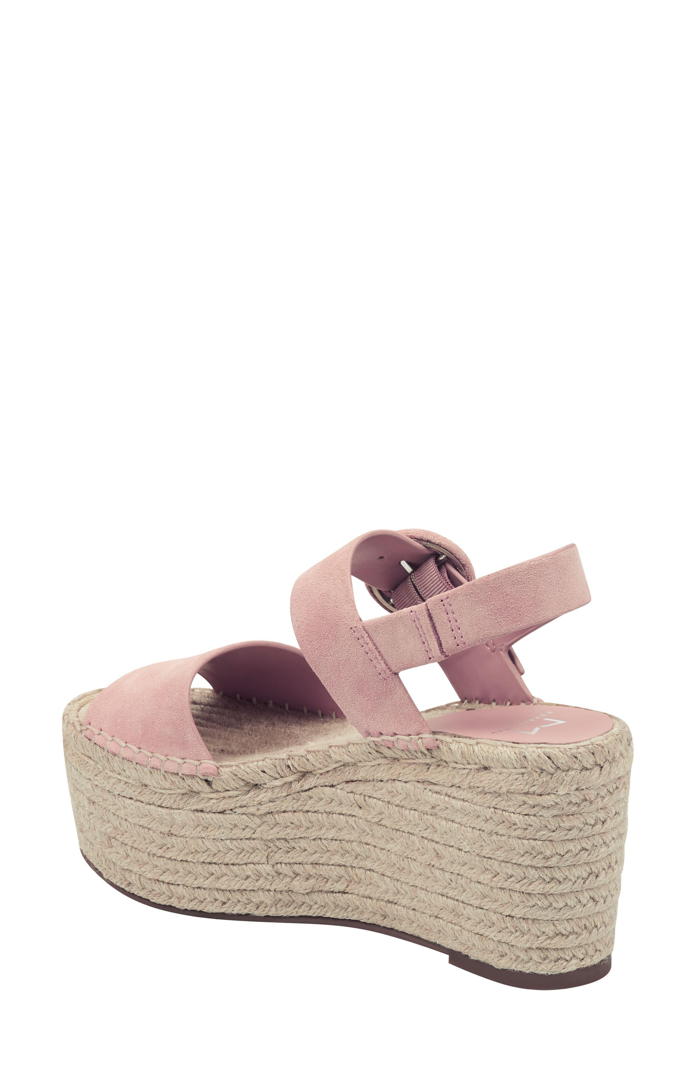 619e50724d2 Marc Fisher - Pink Rex Platform Sandal - Lyst. View fullscreen