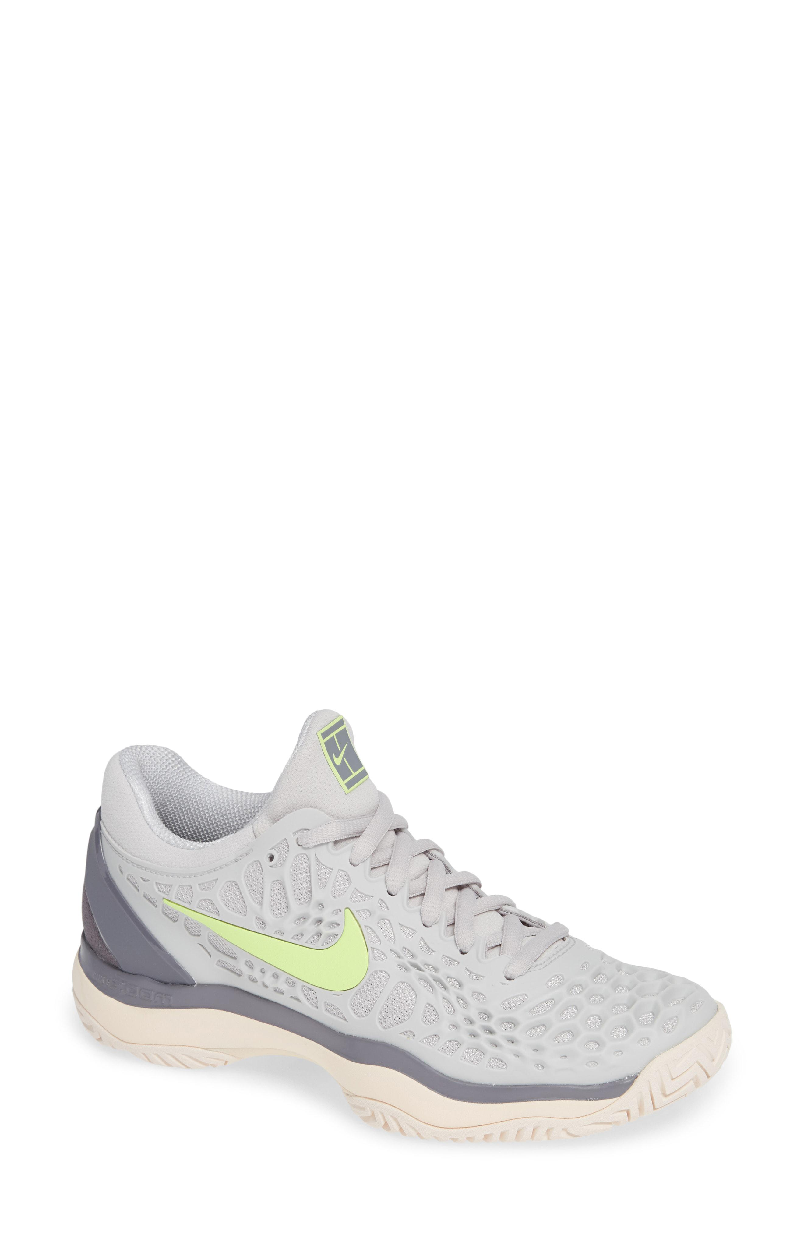 Lyst - Nike Air Zoom Cage 3 Hc Tennis Shoe in White 0715db8f1