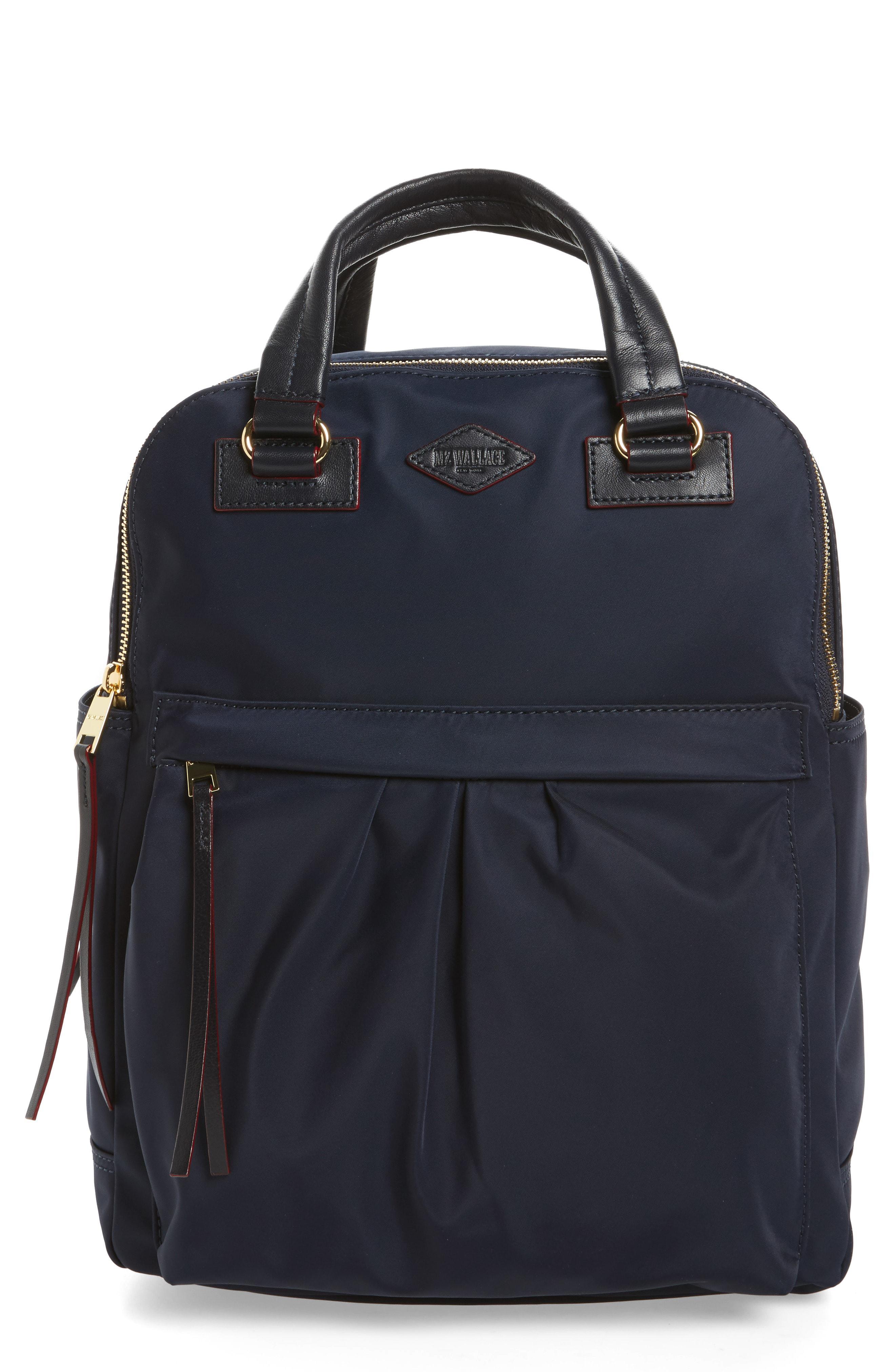7a0dda71f9e8 Lyst - Mz Wallace Jordan Backpack in Blue