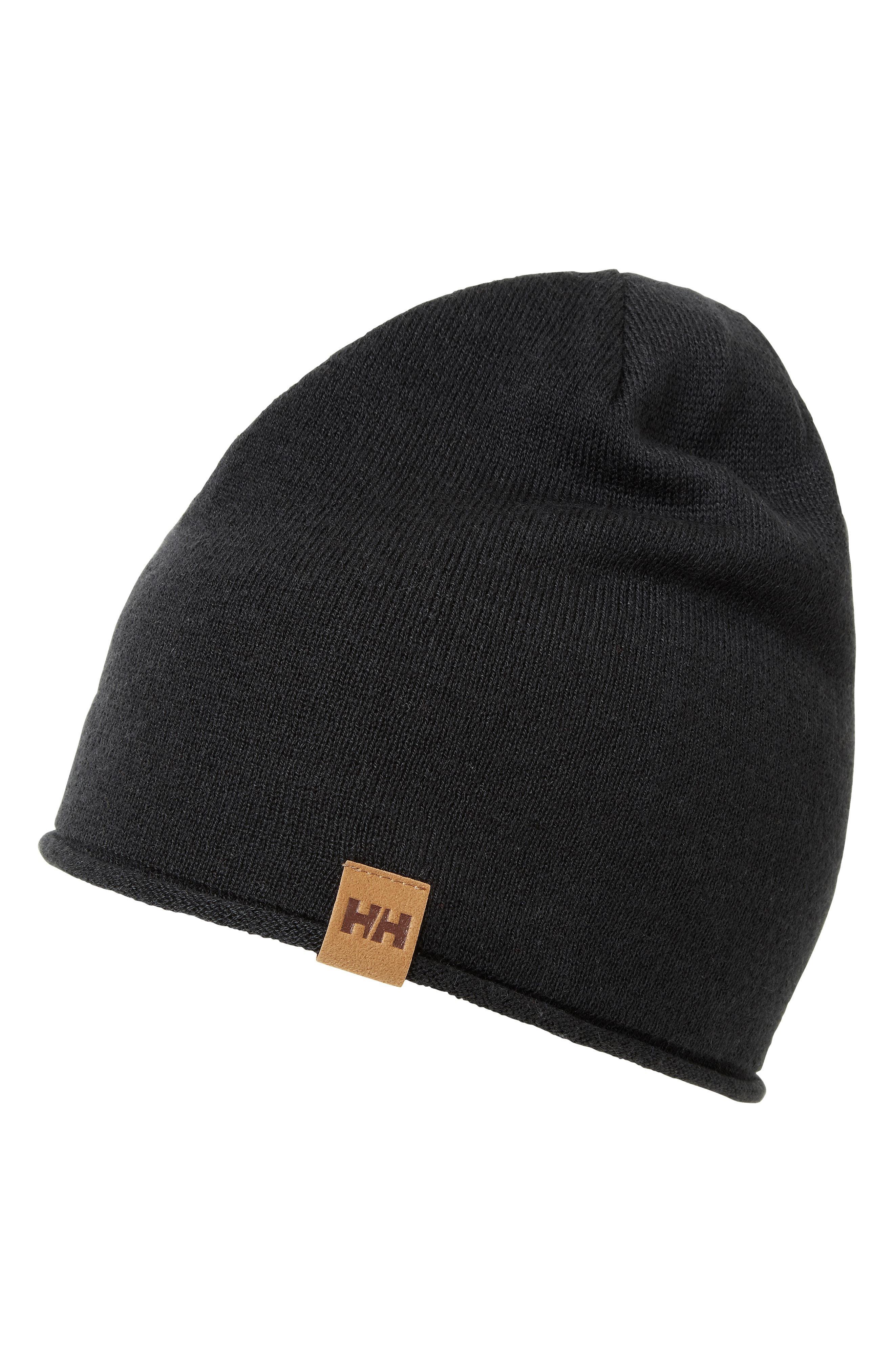 83beb0e23c1 Lyst - Helly Hansen Mountain Beanie in Black for Men