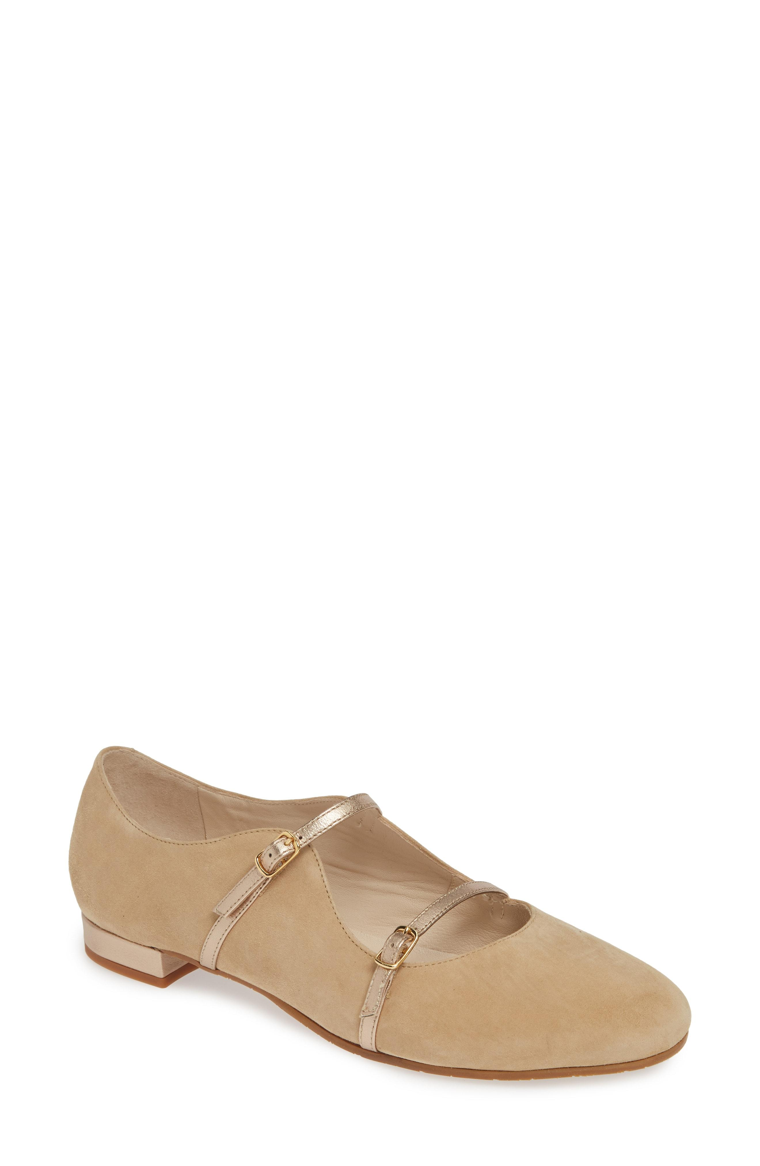 6ffaa209706 Lyst - Amalfi by Rangoni Grado Strappy Mary Jane Flat in Natural