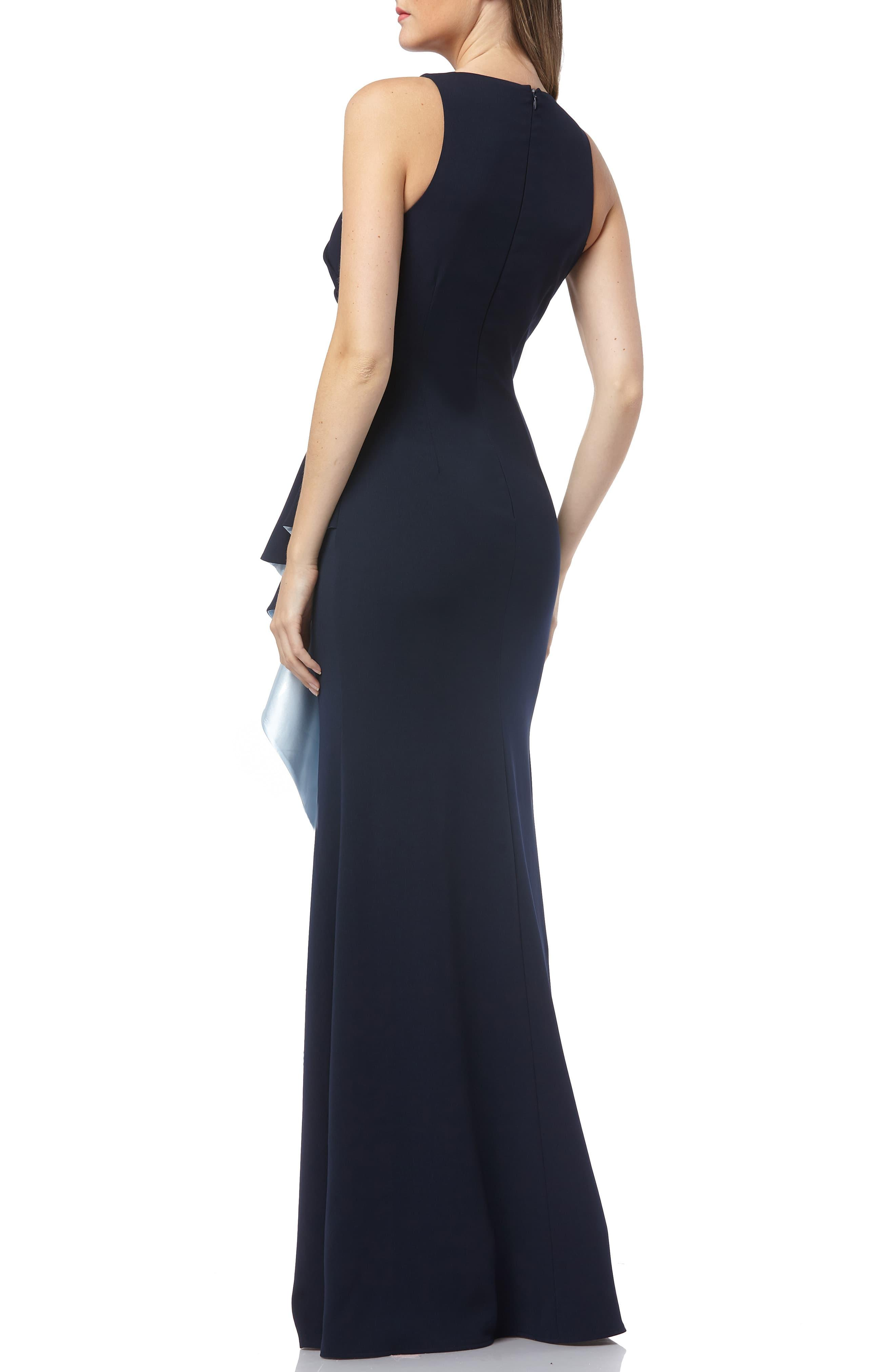 0f8b495277d94 ... Carmen Marc Valvo Couture Infusion Ruffle Gown - Lyst. View fullscreen