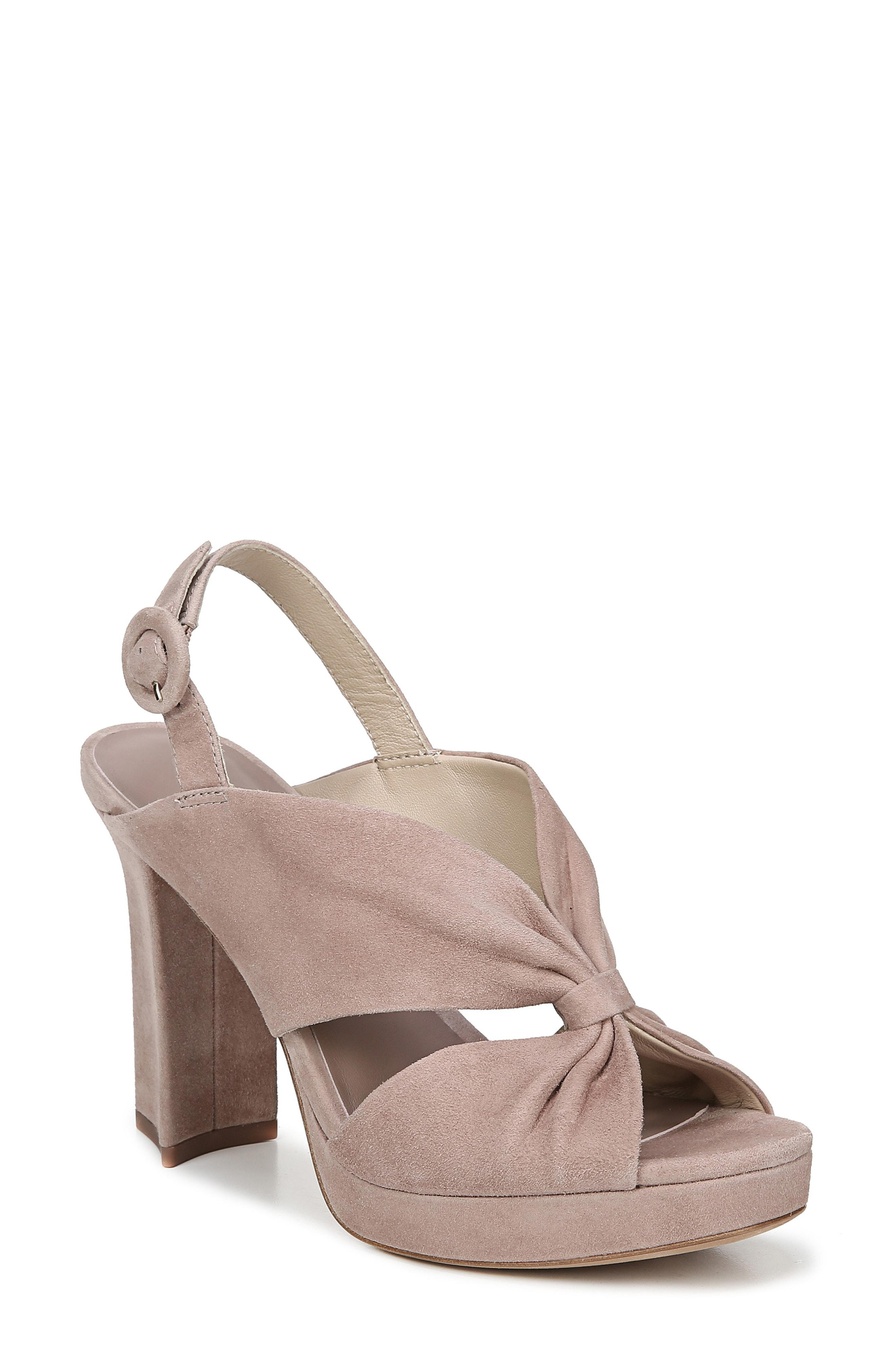 798aab00987 Lyst - Diane von Furstenberg Heidi Slingback Block Heel Sandals ...