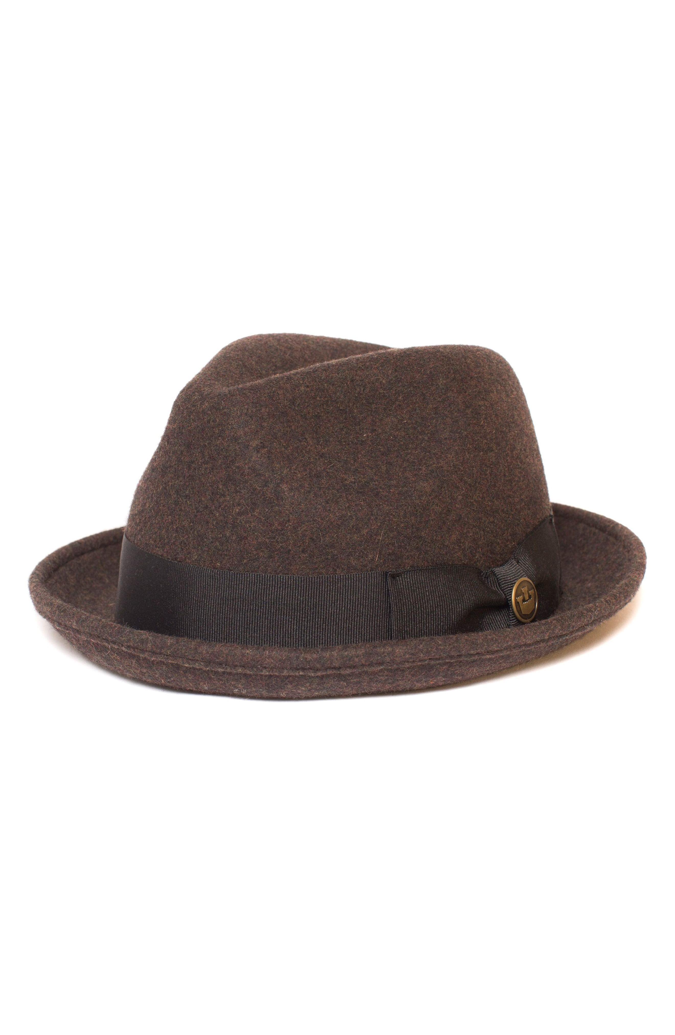 79983b3f692b77 Lyst - Goorin Bros The Good Boy Felt Wool Fedora in Brown for Men