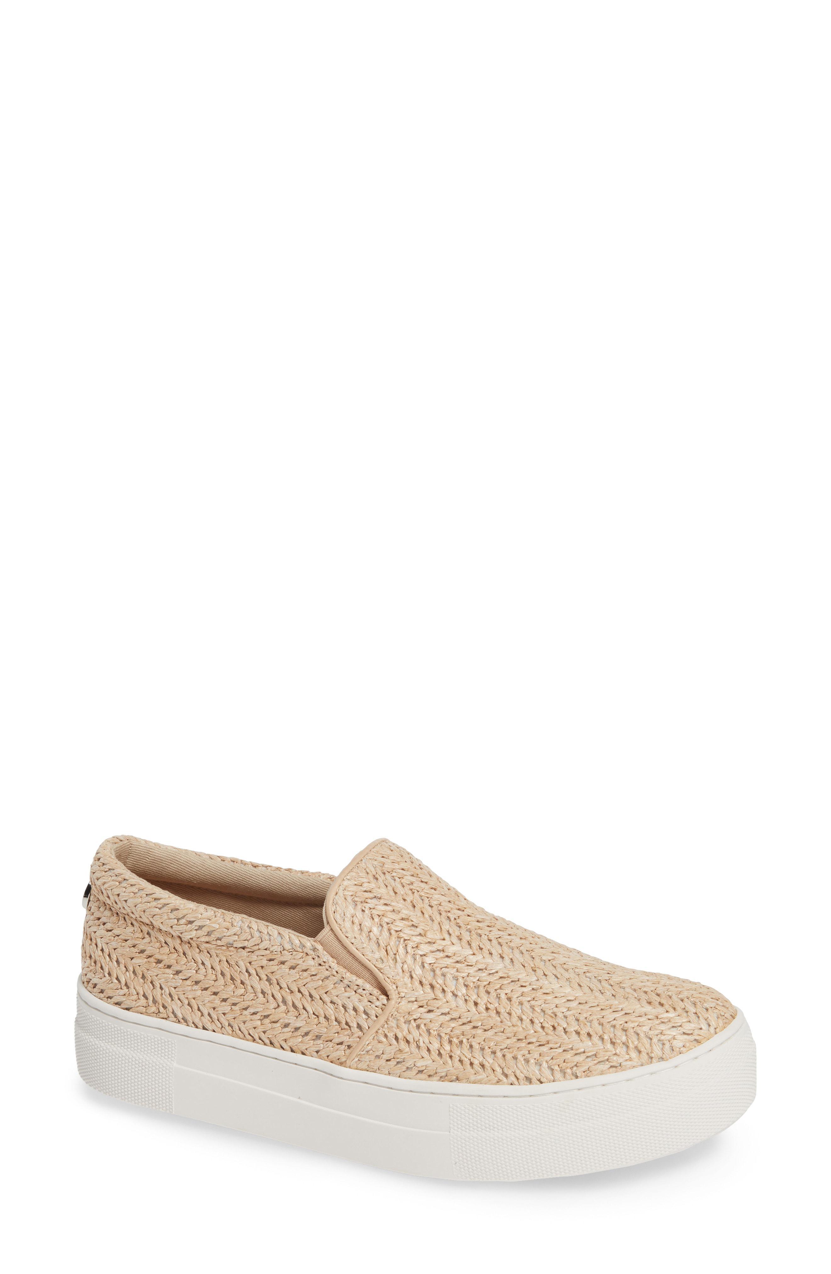 d4c789597d5 Lyst - Steve Madden Gills Platform Slip-on Sneaker in Natural