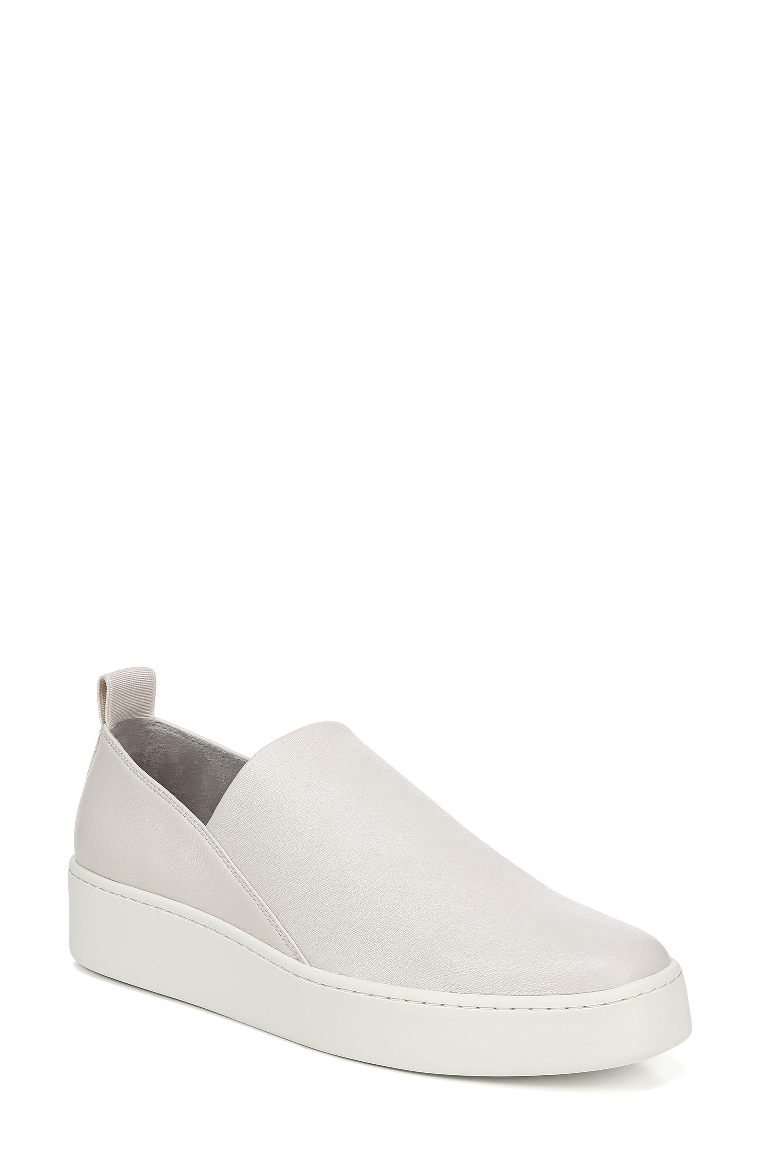 9310f5ce0552 Lyst - Vince Saxon Slip-on Sneaker in White