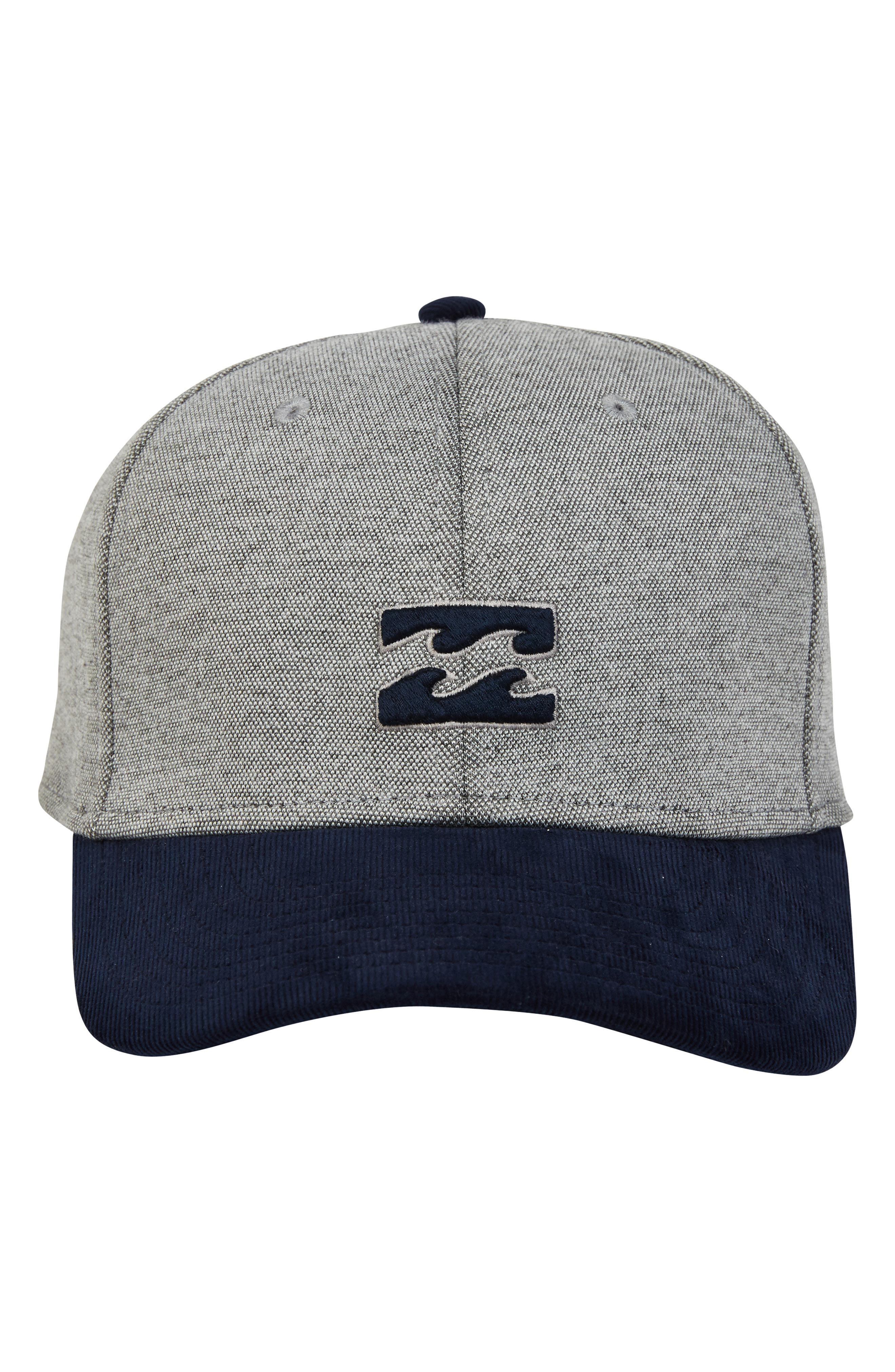 6e554d7bb30 Lyst - Billabong All Day Stretch Baseball Cap in Gray for Men