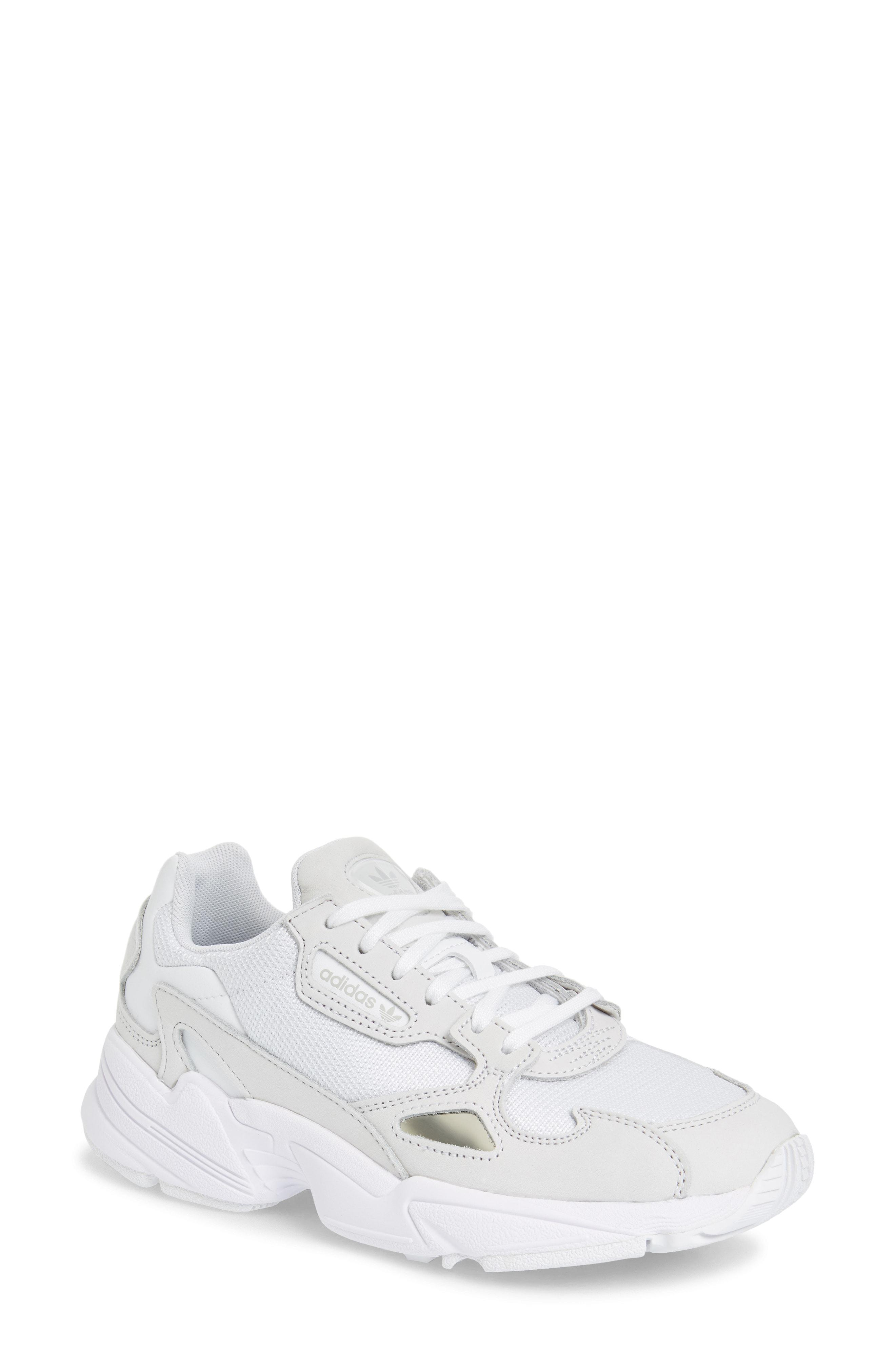Lyst - adidas Falcon Sneaker in White 9ab1834c5