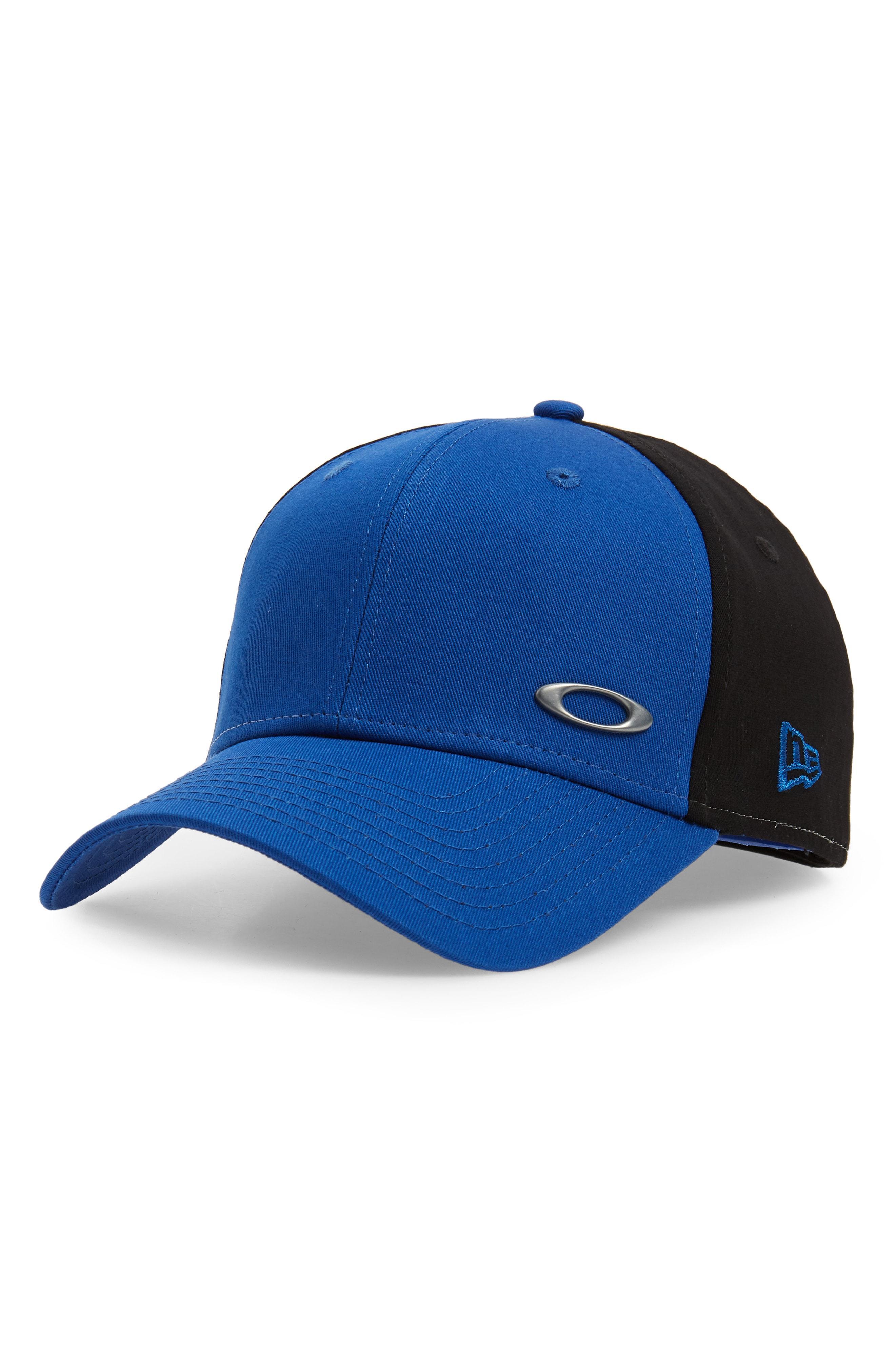 Lyst - Oakley Tinfoil Baseball Cap in Blue for Men 877fc9617628