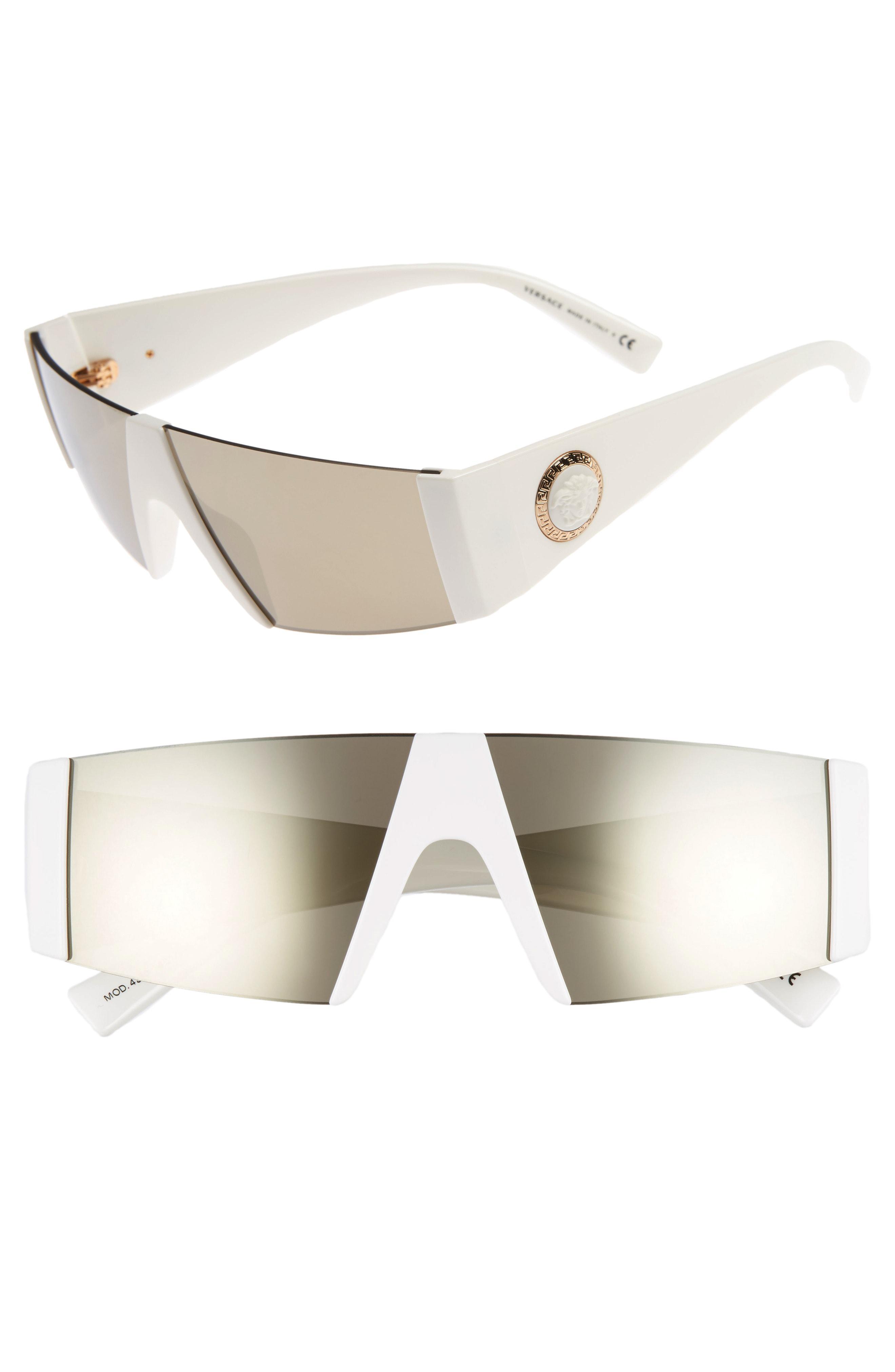 43cd83915c Versace. Women s Medusa 56mm Shield Sunglasses -