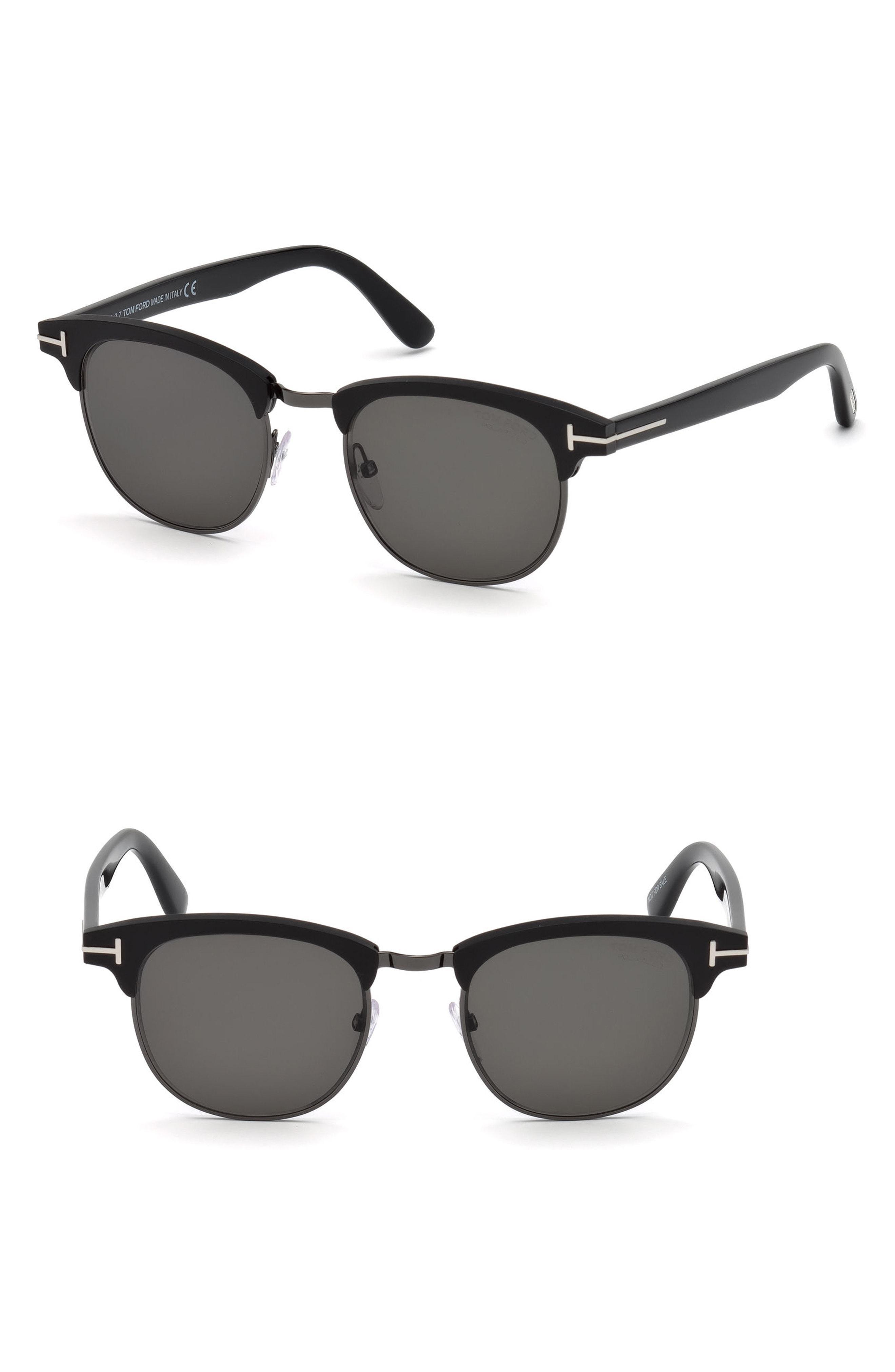 fa91fe08613 Lyst - Tom Ford Laurent 51mm Polarized Sunglasses in Black for Men