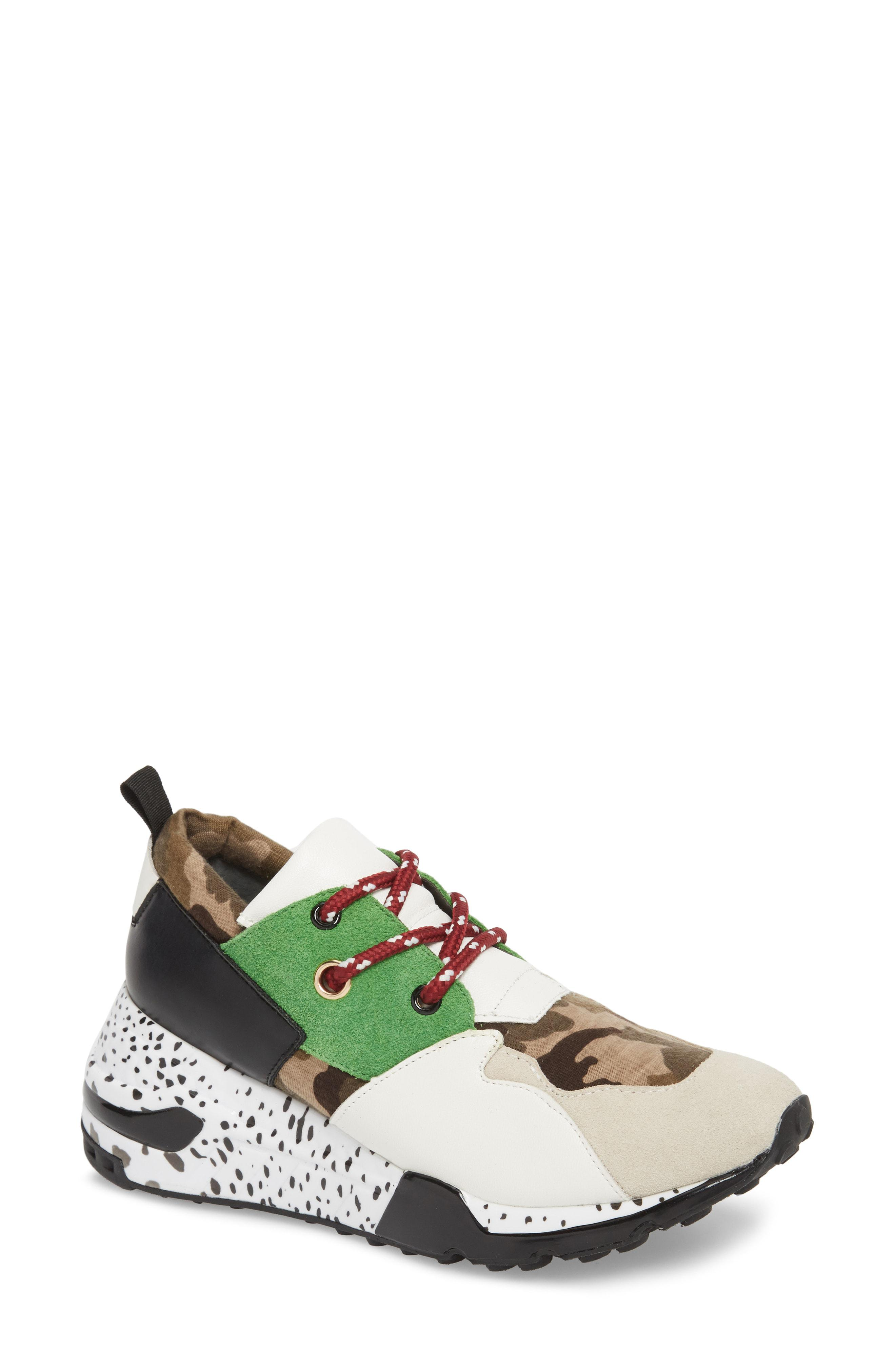 dda243f226e Lyst - Steve Madden Cliff Sneaker in Green