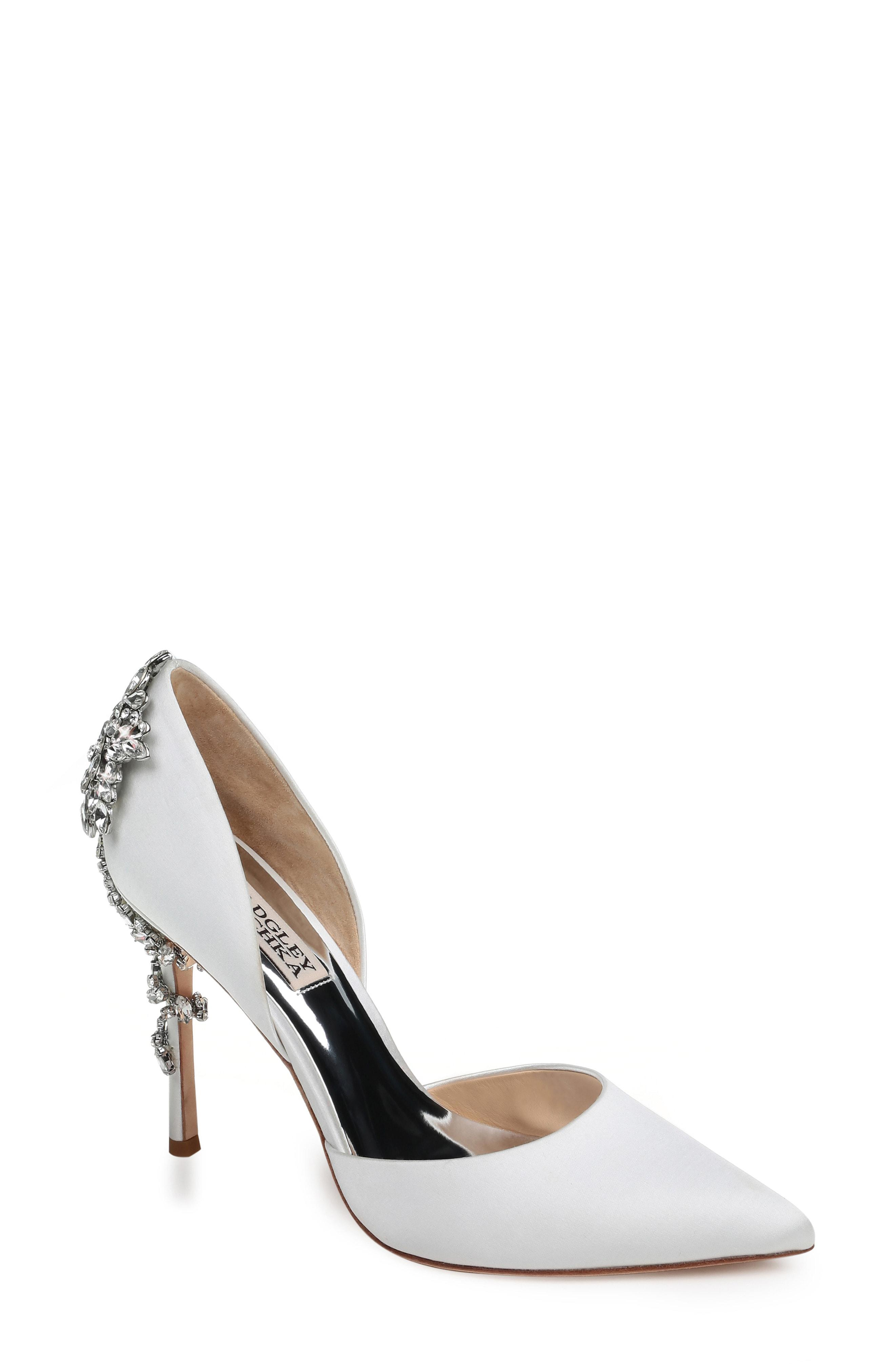 57d6c08ceb1f Lyst - Badgley Mischka Badgley Mischka Vogue Crystal Embellished D ...