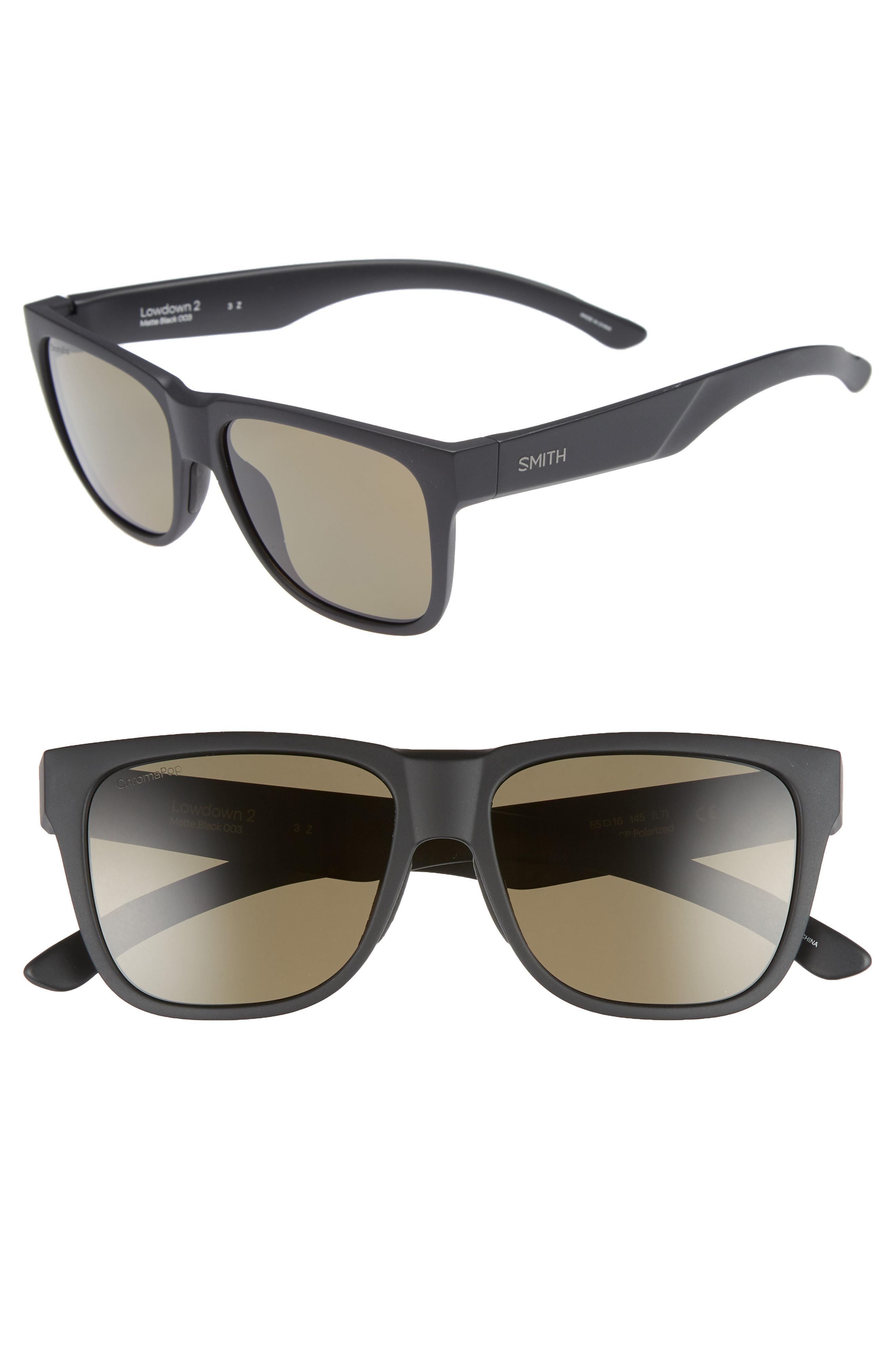 79199e2eb36 Smith - Serpico 2 65mm Mirrored Chromapop(tm) Polarized Aviator Sunglasses  - Lyst. View fullscreen