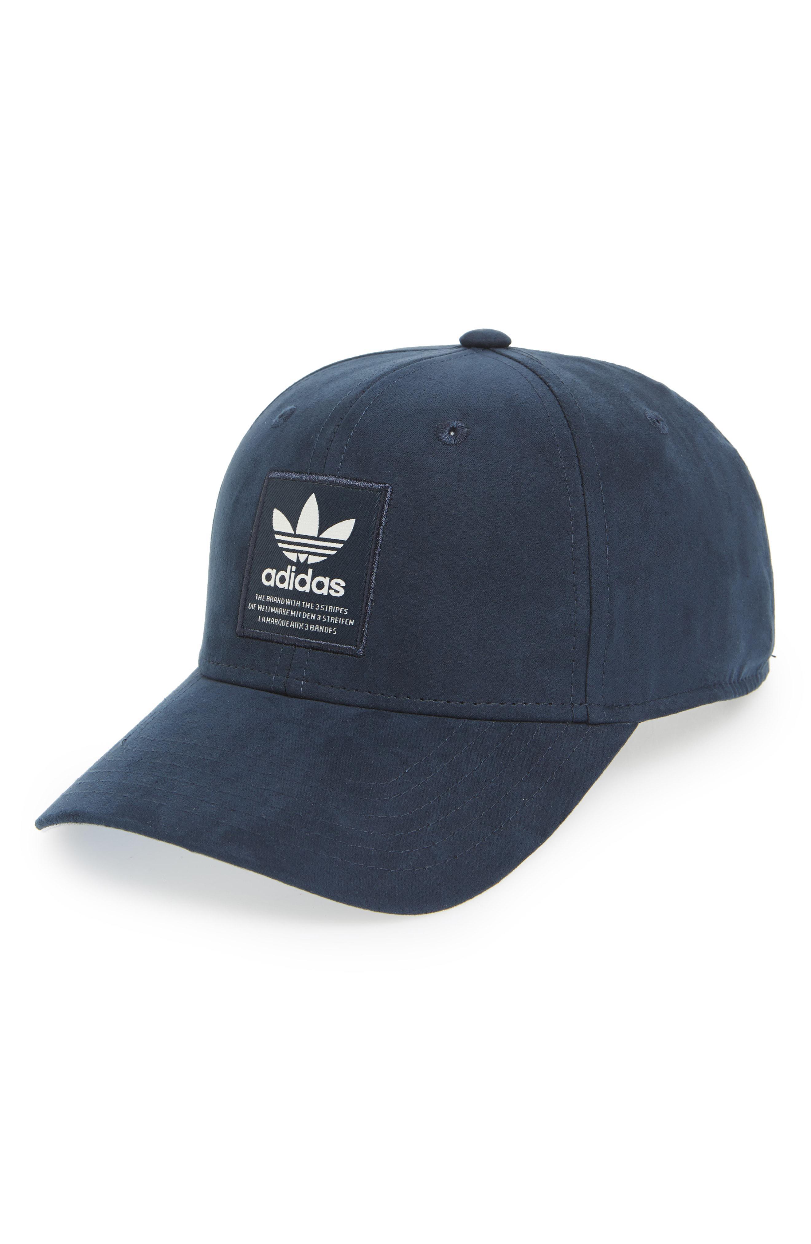 857aab90253 Lyst - Adidas Originals Trefoil Snapback Baseball Cap in Blue for Men