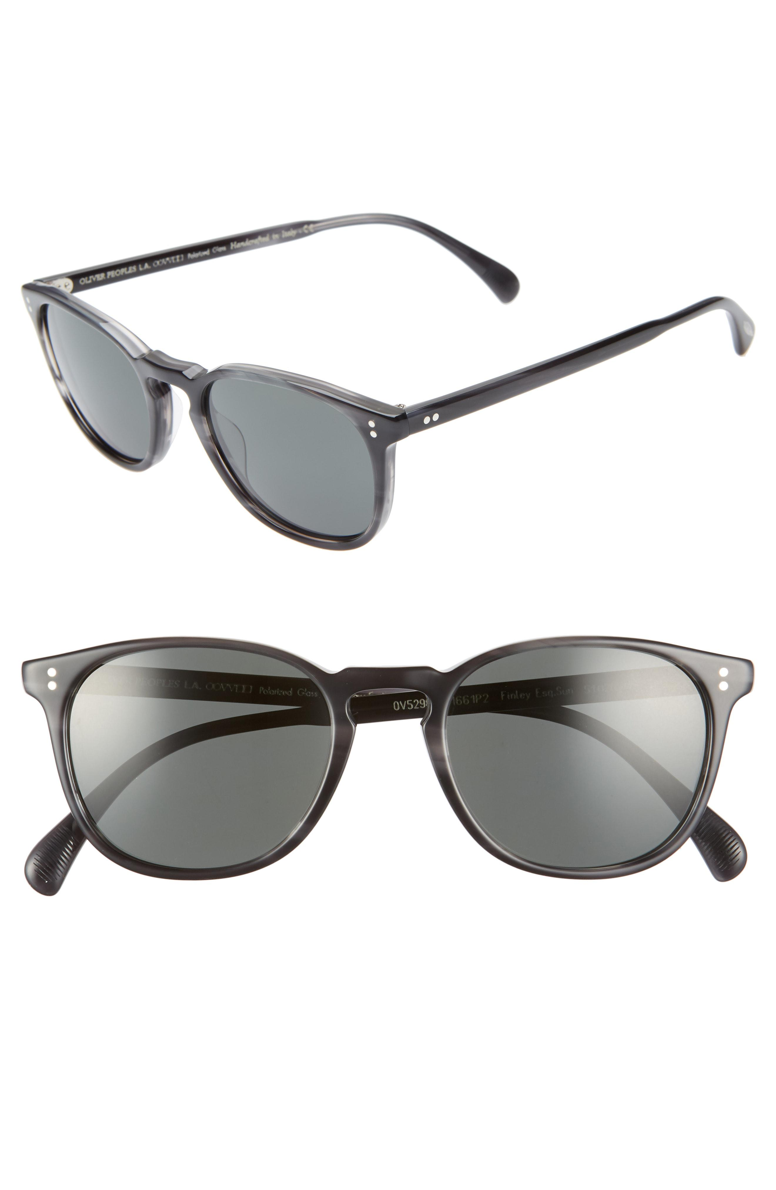 8837265a7a2 Lyst - Oliver Peoples Finley 51mm Polarized Sunglasses - in Gray for ...