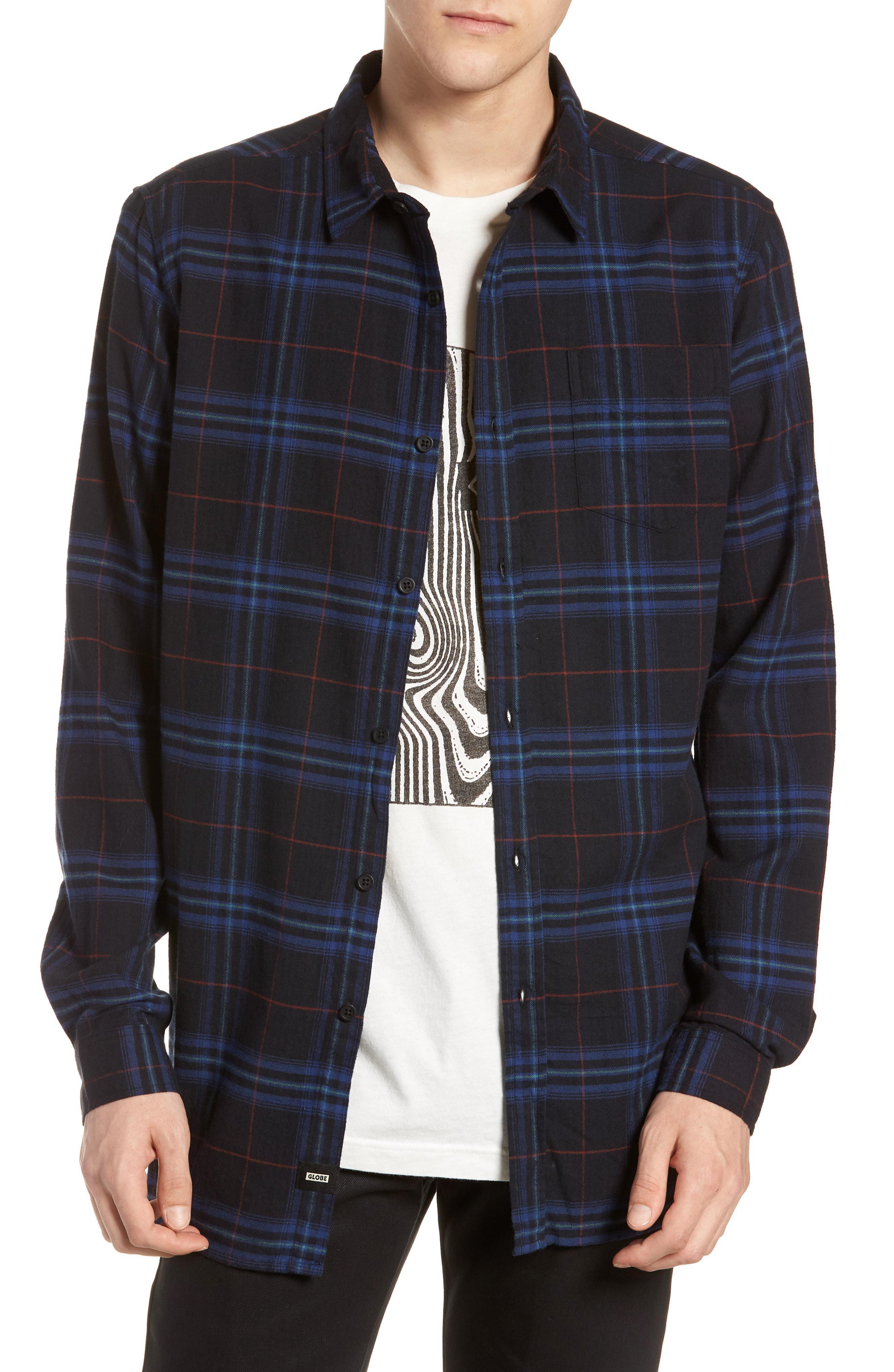 e47a1651b7ac Globe Dock Plaid Shirt in Blue for Men - Lyst