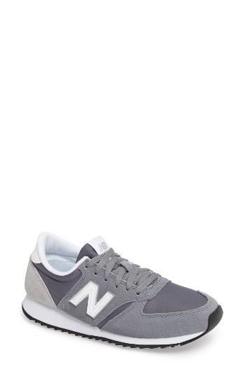 new balance 39 420 39 sneaker in metallic lyst. Black Bedroom Furniture Sets. Home Design Ideas