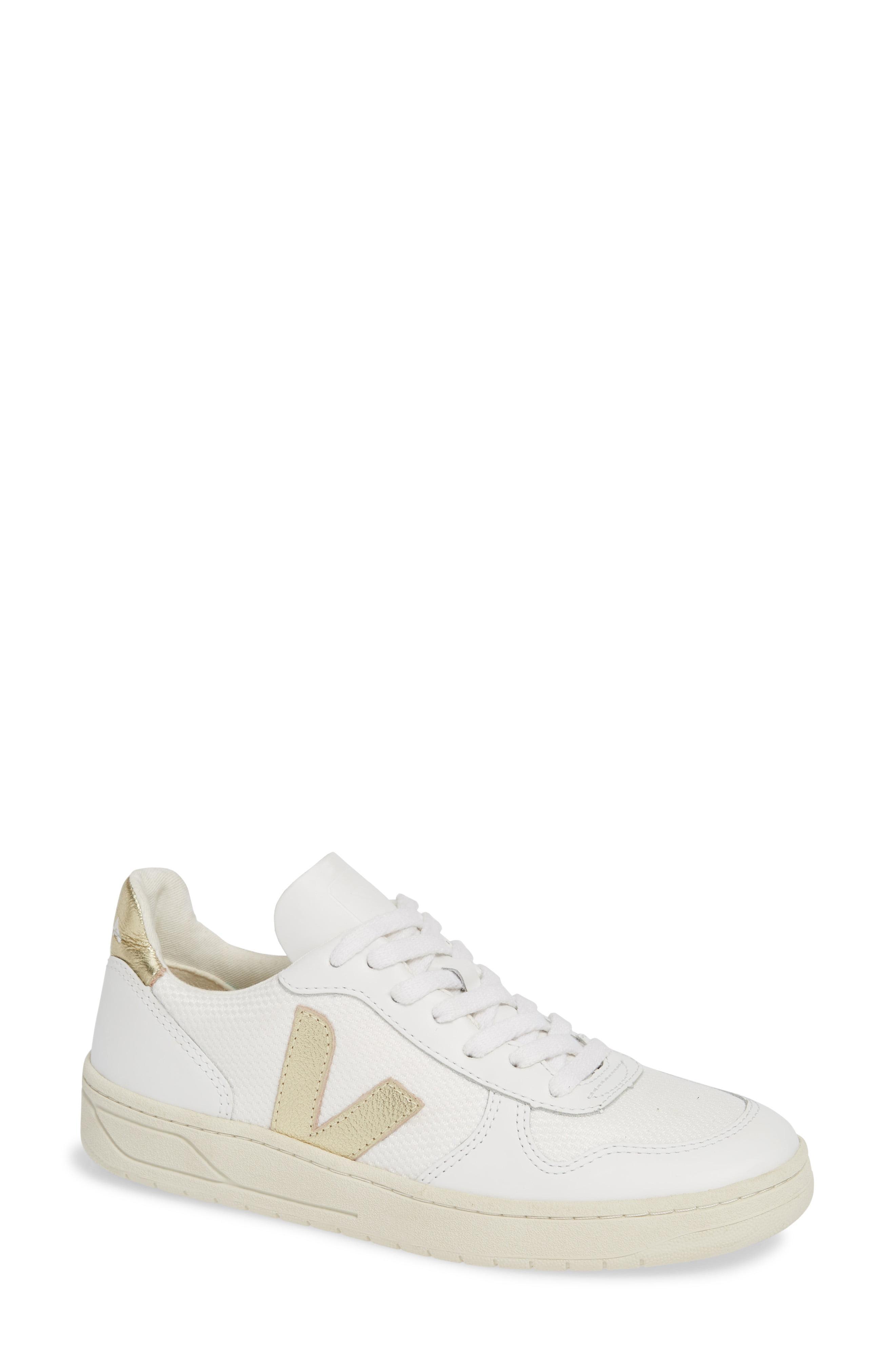 brand new d8da7 f32c7 Lyst - Veja V-10 Sneaker in White
