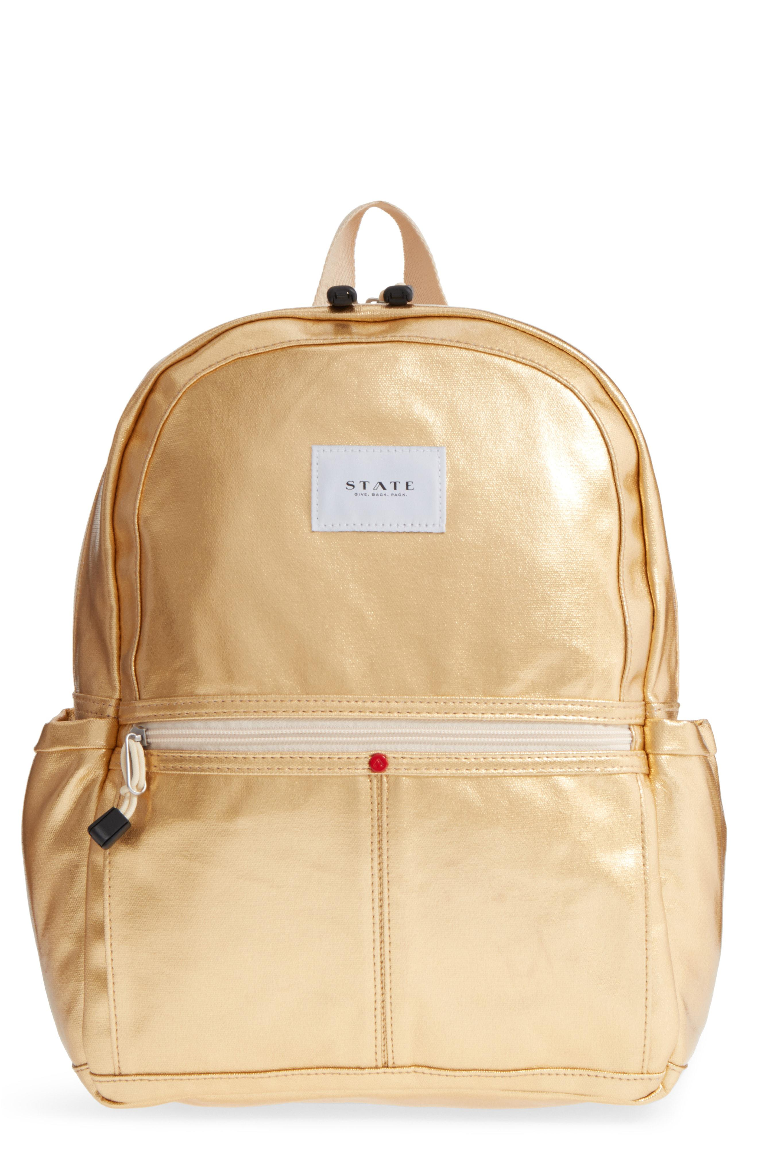 123a5780973 Lyst - State Bags Downtown Kane Backpack - Metallic in Metallic