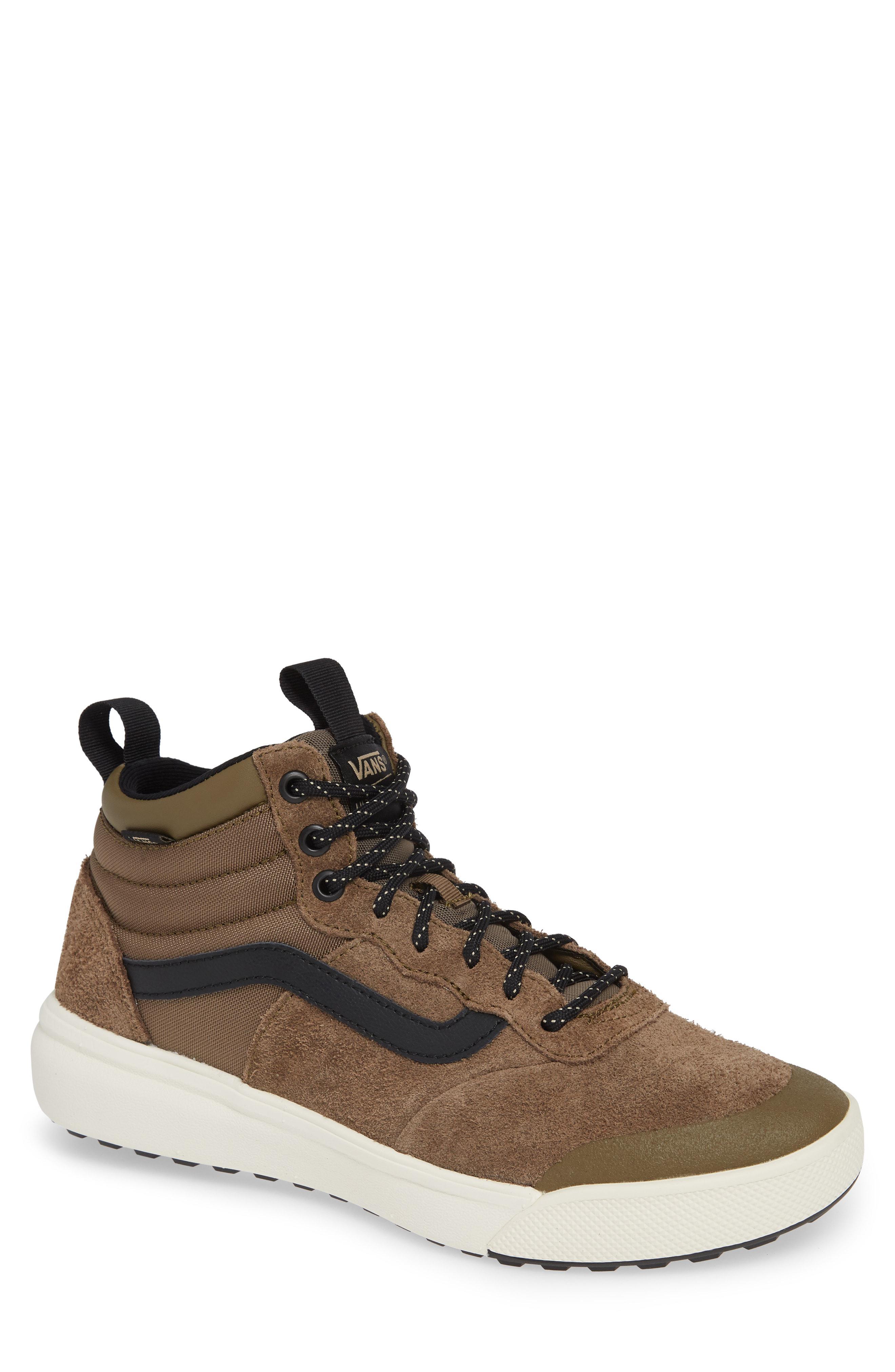 Lyst - Vans Ultrarange Hi Sneaker in Brown for Men f7284f72c