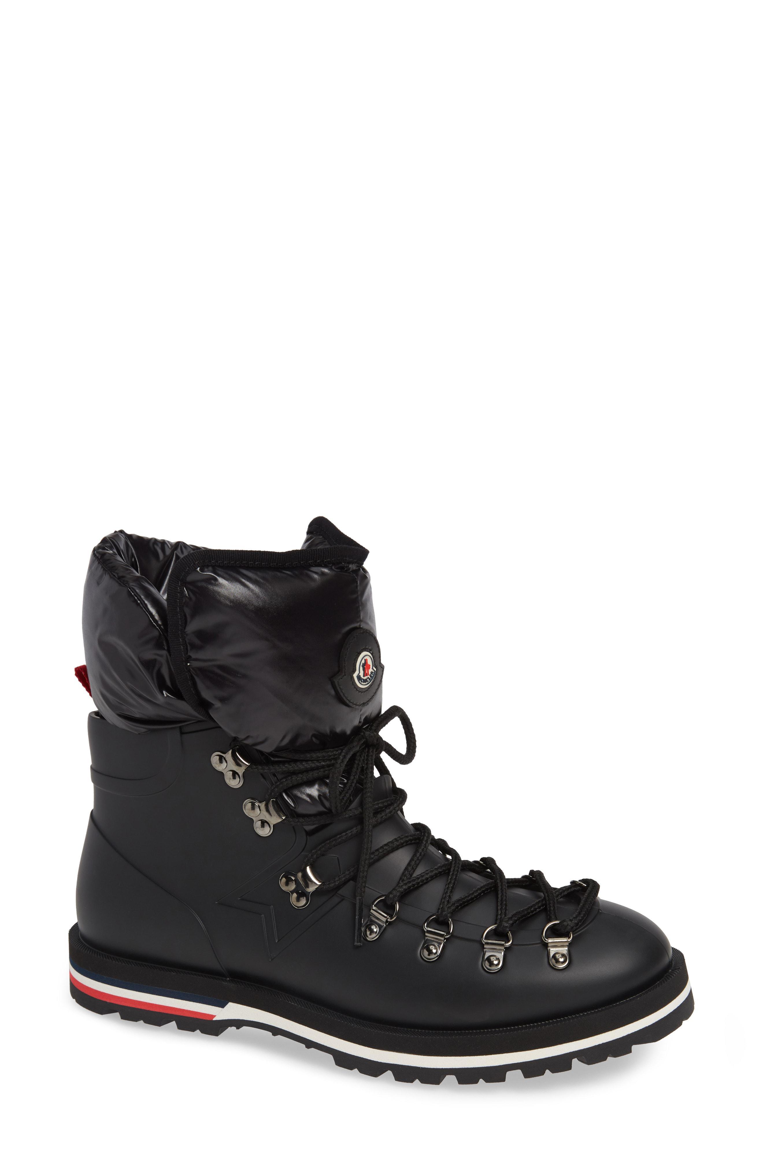 8b4bcddb5 Lyst - Moncler Inaya Boot in Black