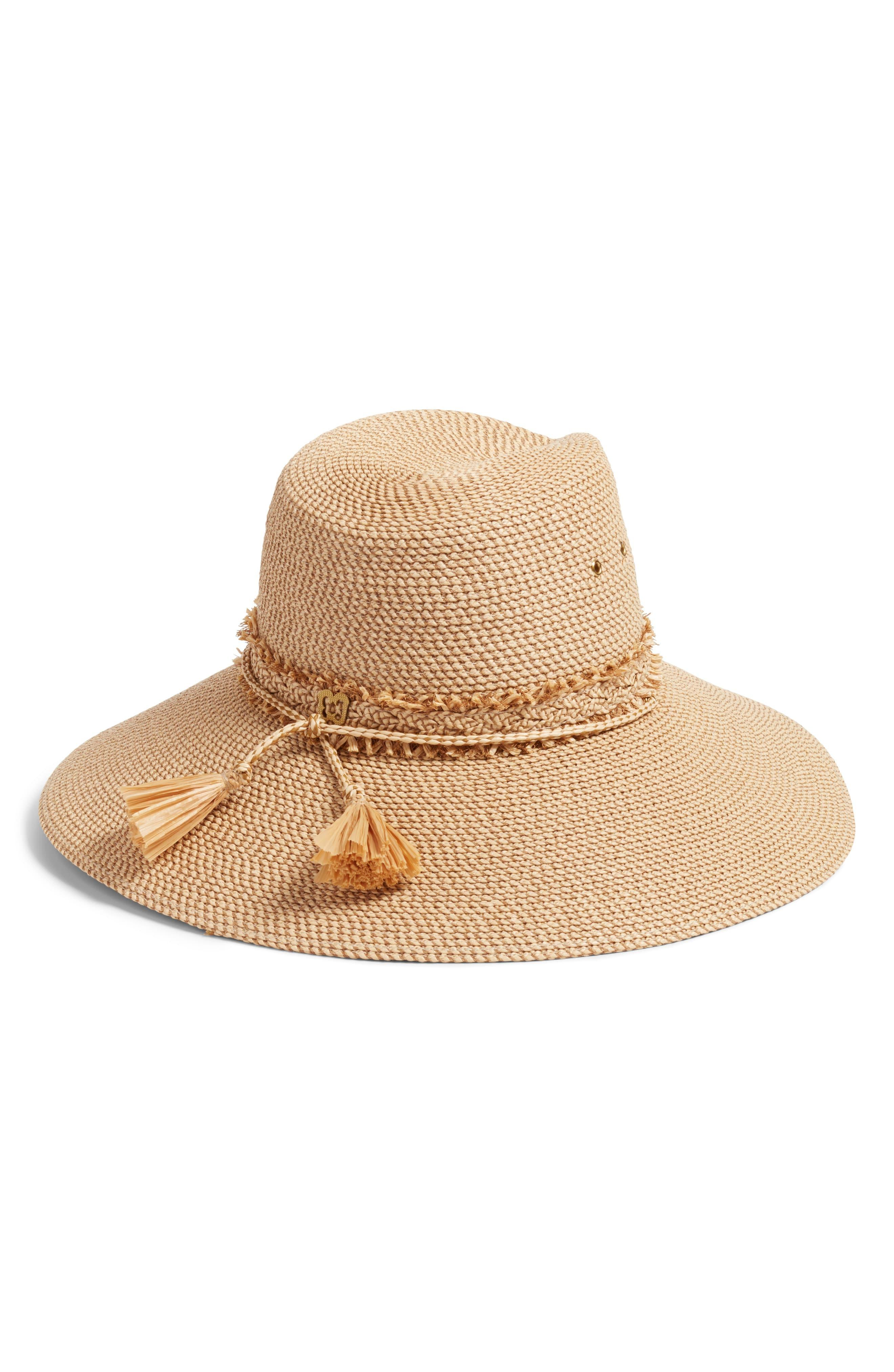 805f8fac16554 Eric Javits - Natural Voyager Packable Sun Hat - Lyst. View fullscreen