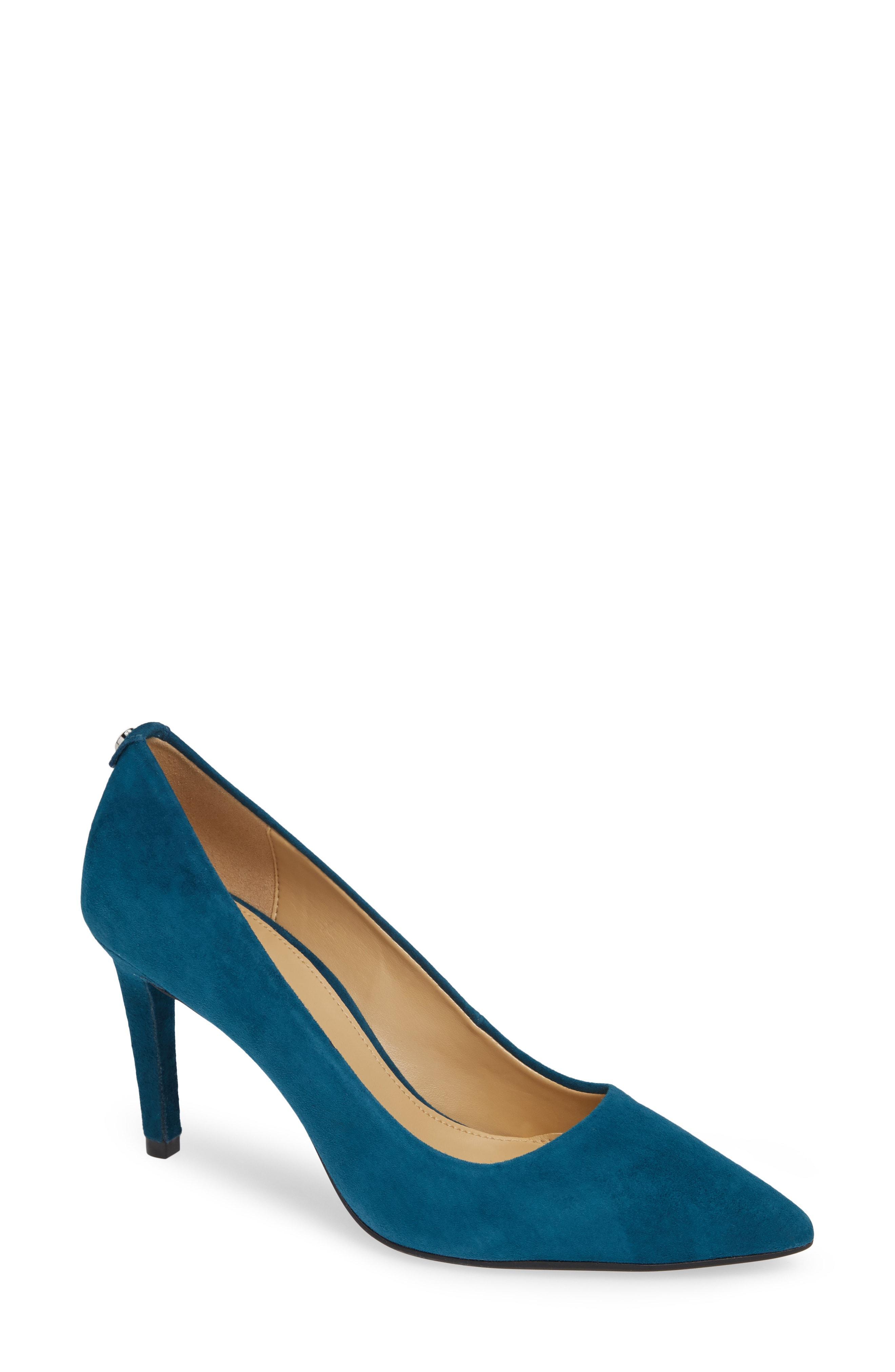 1ad31c920a9 Lyst - MICHAEL Michael Kors Dorothy Flex Pump in Blue