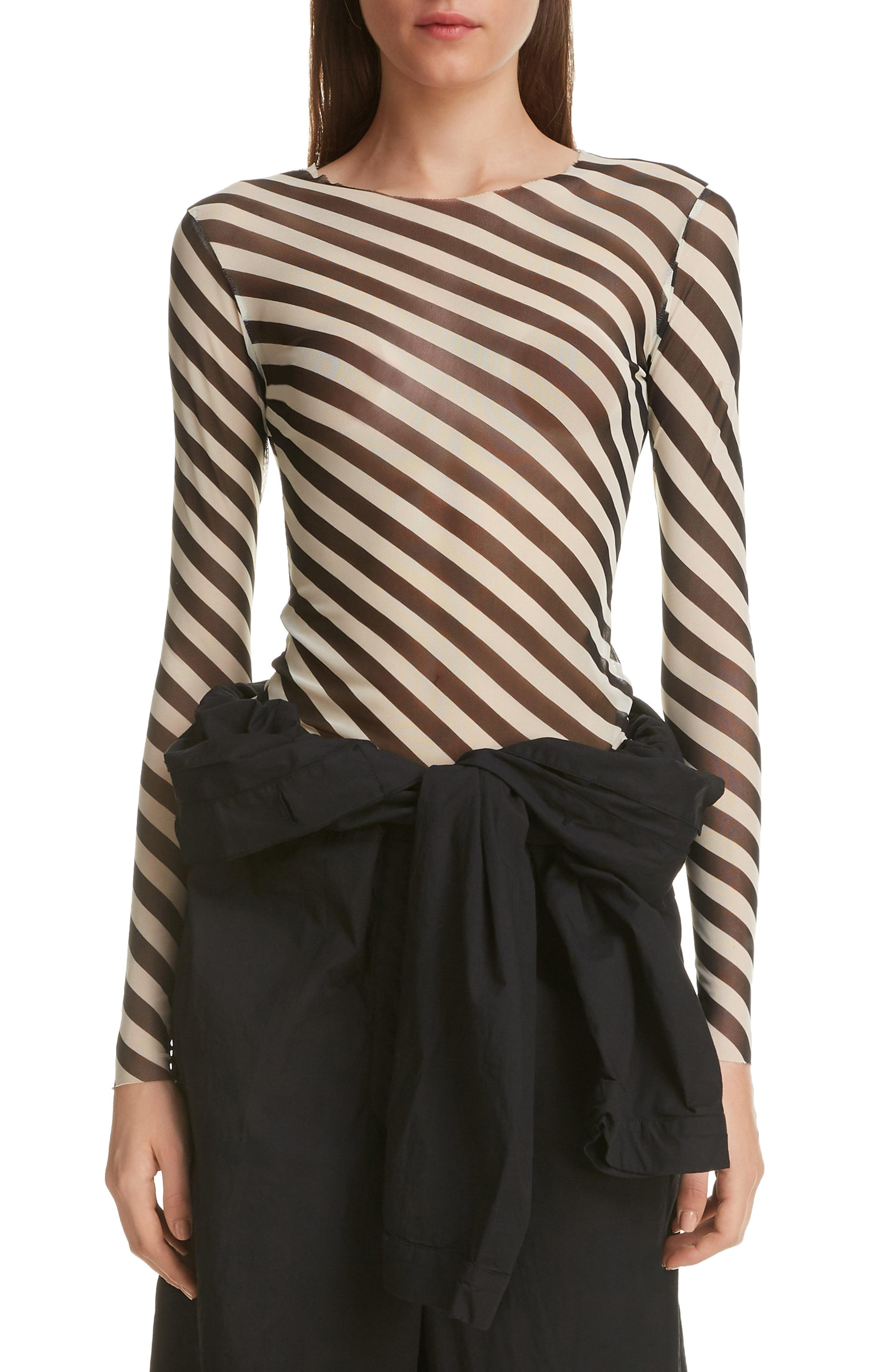 59335535d45c8 Dries Van Noten. Women s Heston Bias Stripe Top