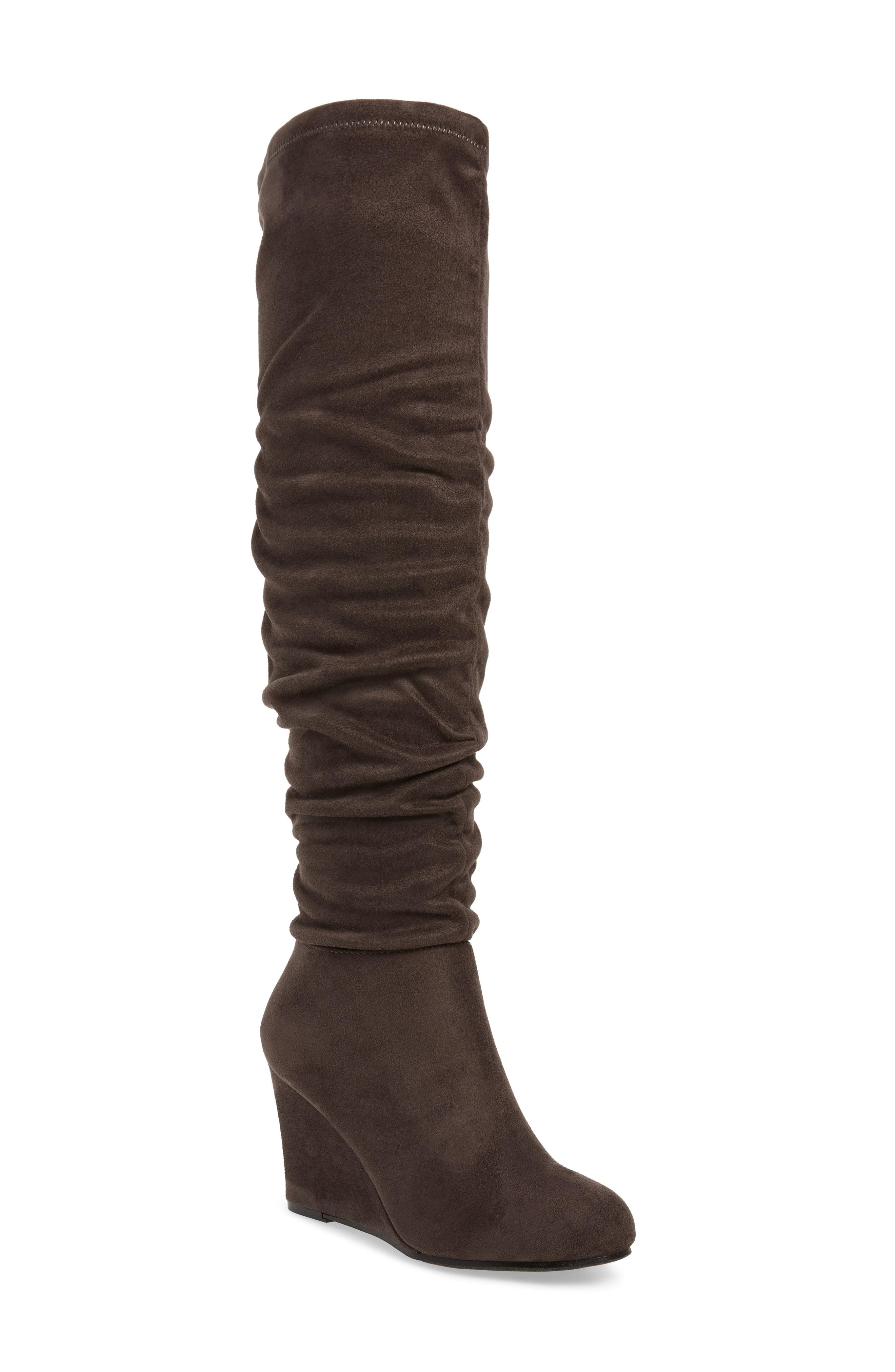 79427e53ea2 Lyst - Chinese Laundry Uma Over The Knee Boot in Brown